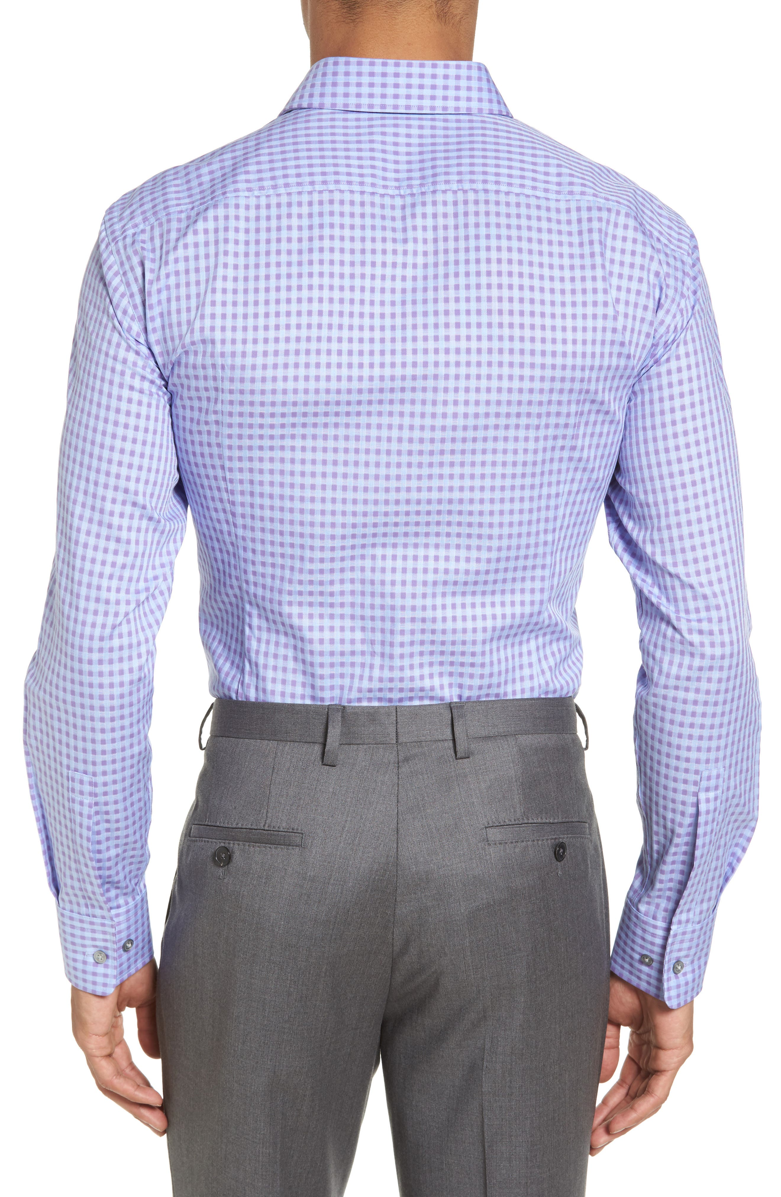 Alternate Image 3  - BOSS Sharp Fit Check Dress Shirt