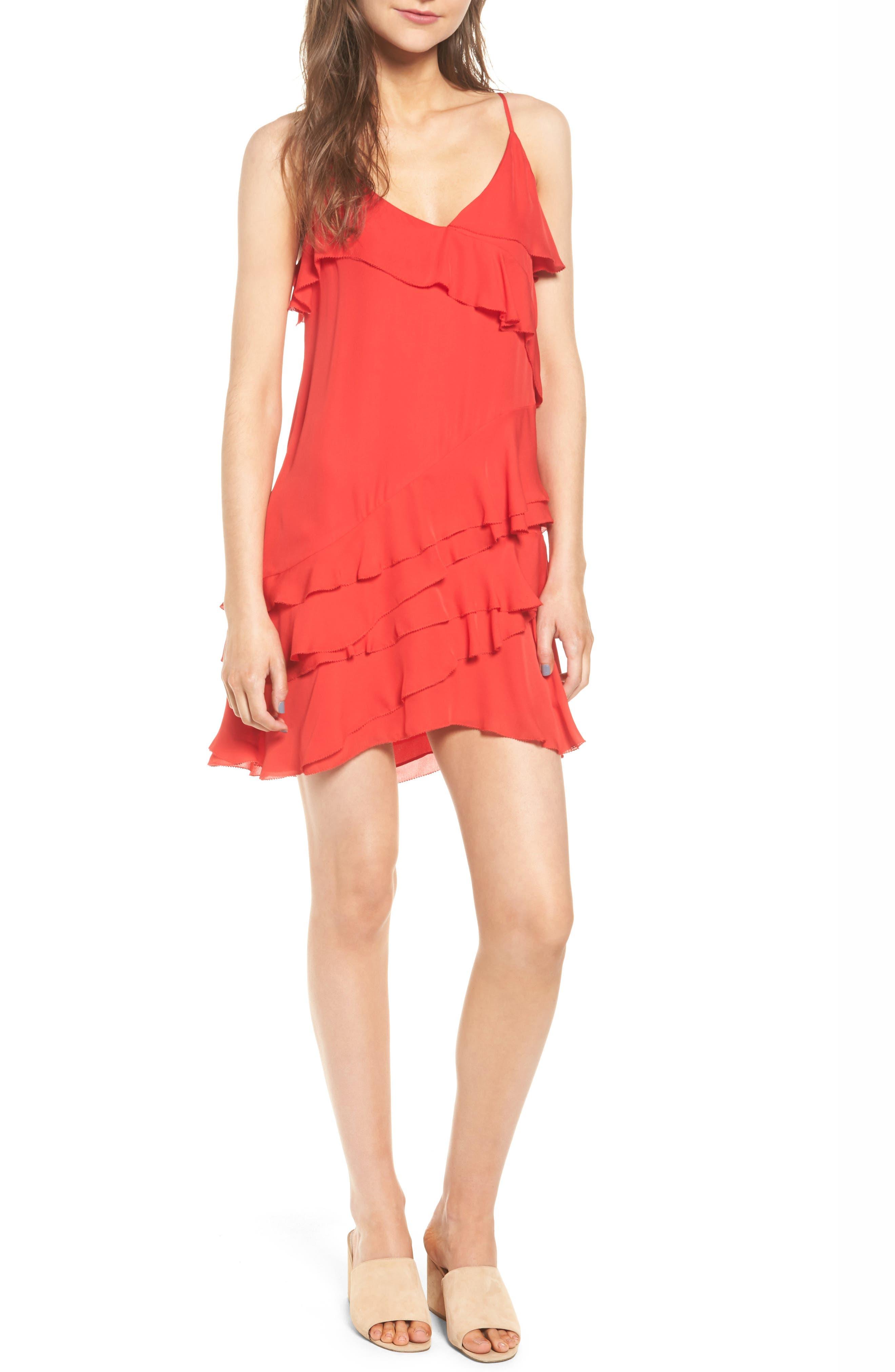 Main Image - Parker Athens Silk Dress