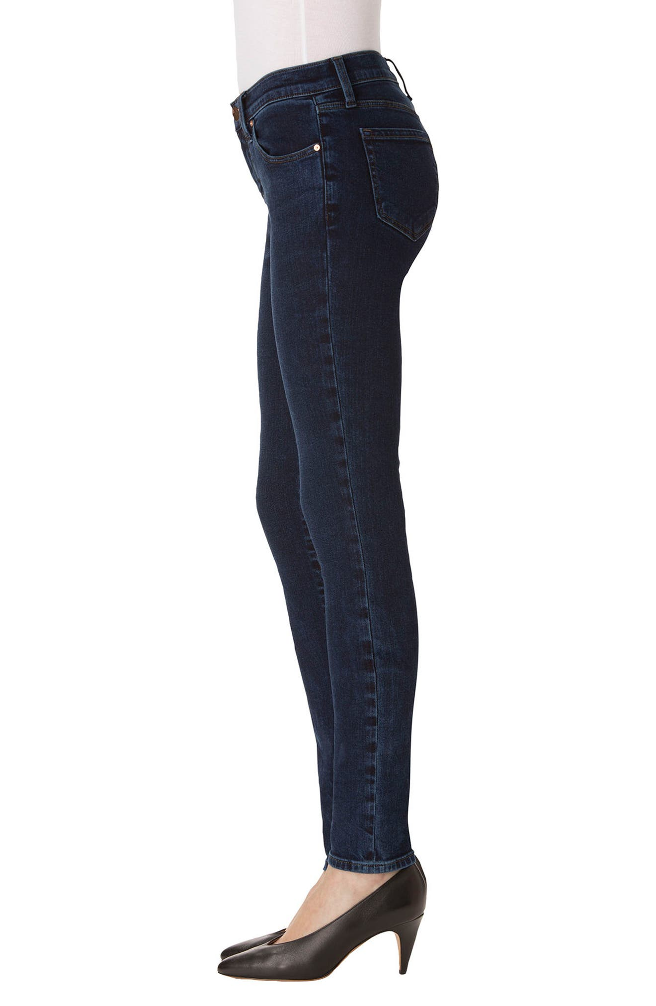 620 Mid Rise Super Skinny Jeans,                             Alternate thumbnail 3, color,                             Throne