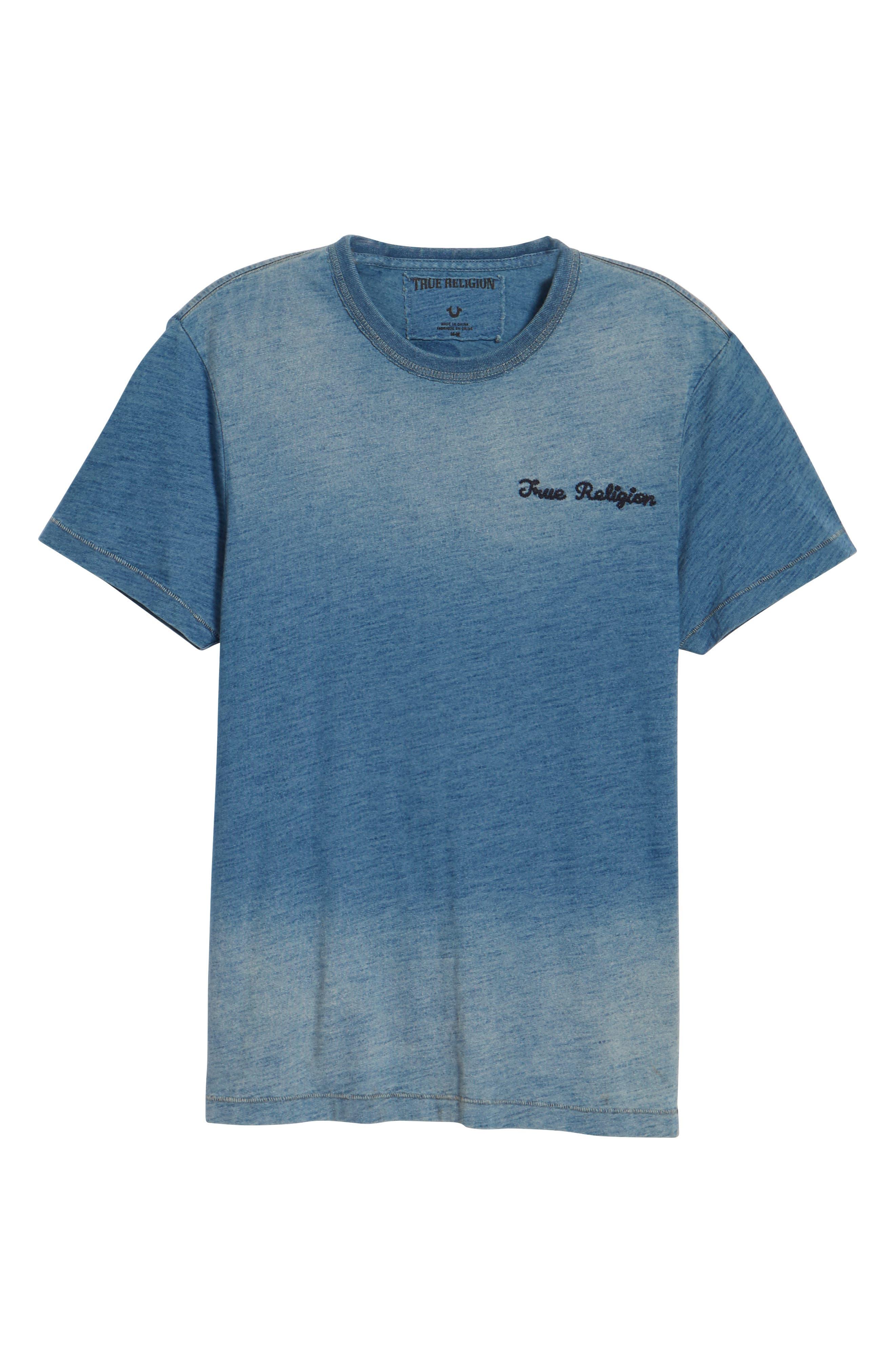Alternate Image 6  - True Religion Brand Jeans Eagle Shadow T-Shirt