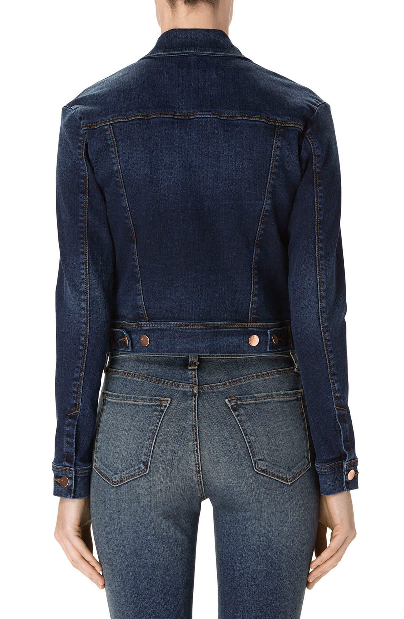 Alternate Image 2  - J Brand Harlow Shrunken Denim Jacket