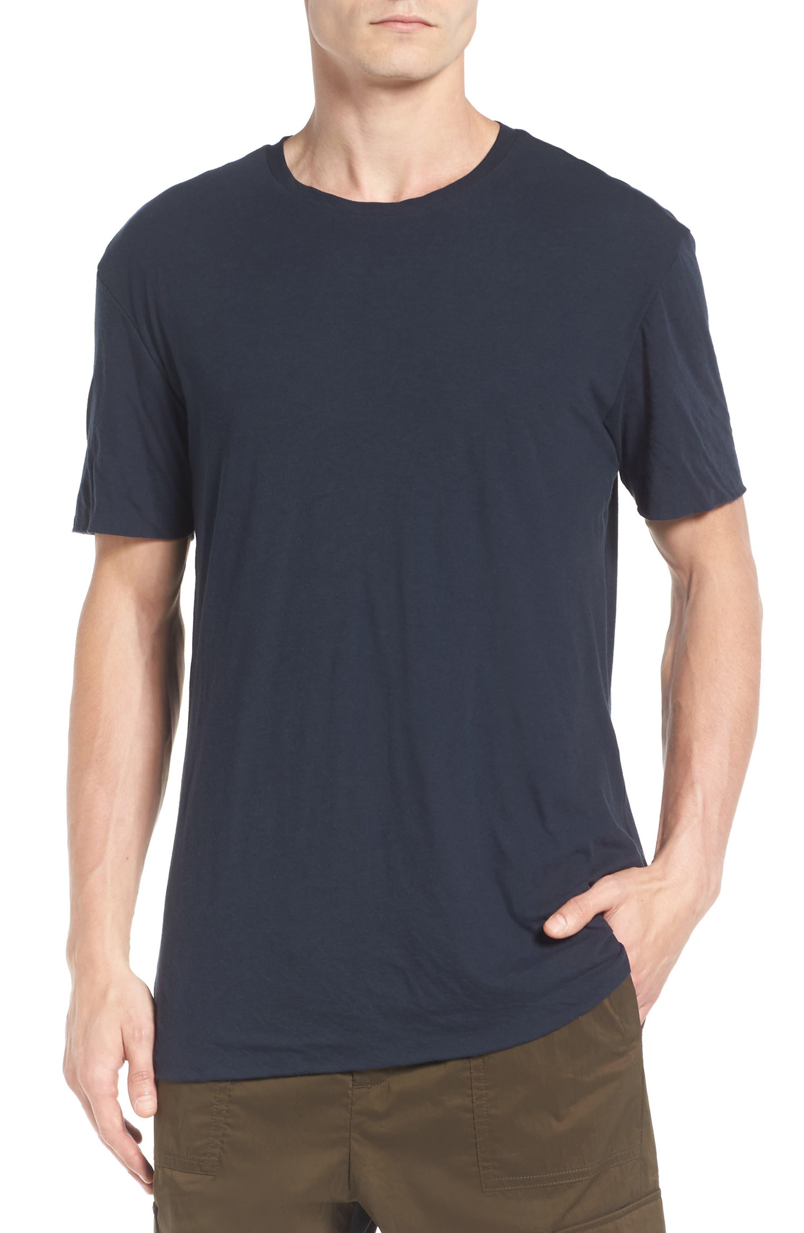 Double Layer T-Shirt,                         Main,                         color, Coastal Blue