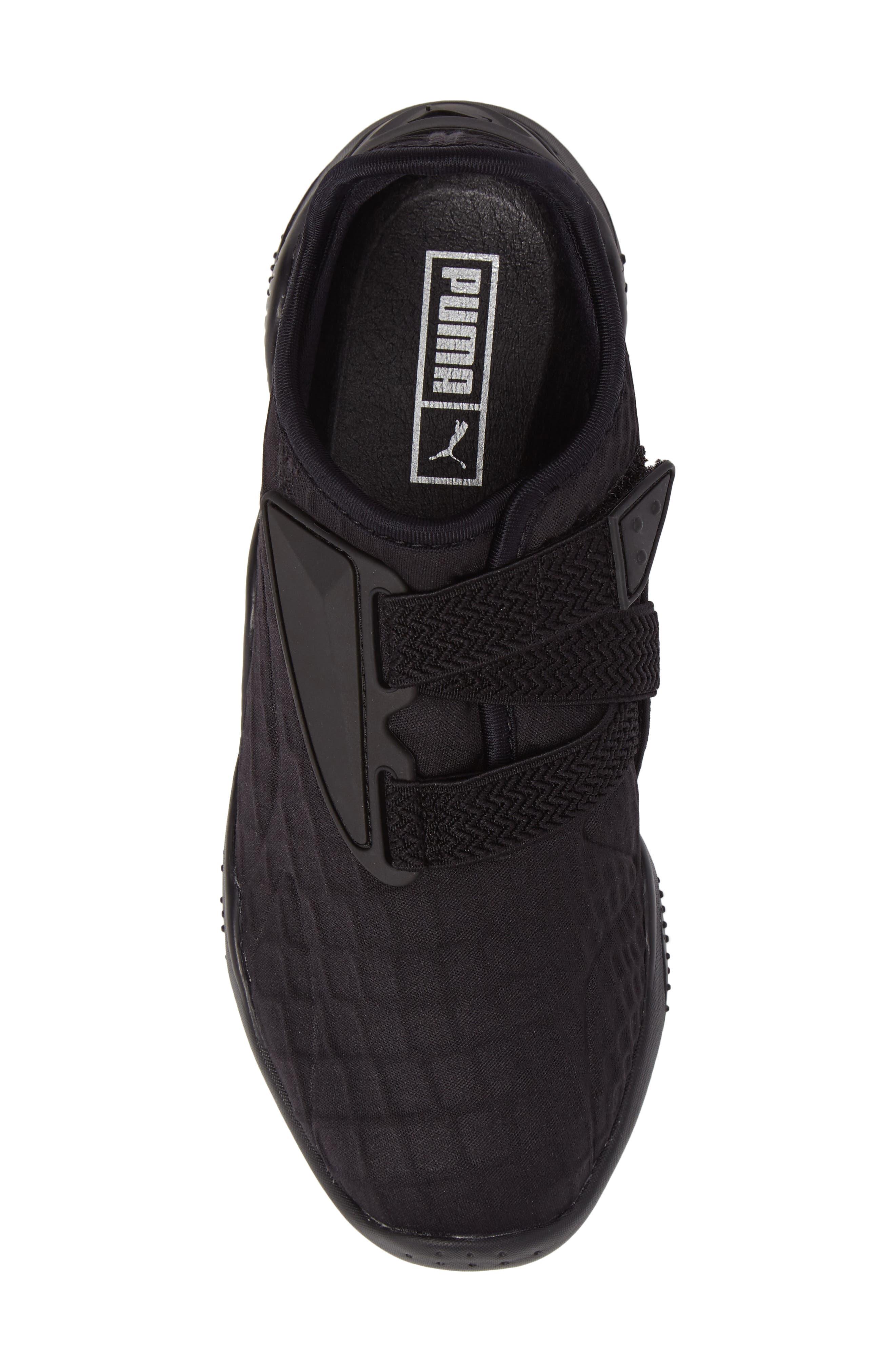 Mostro Fashion Sneaker,                             Alternate thumbnail 5, color,                             Puma Black/ Puma Black