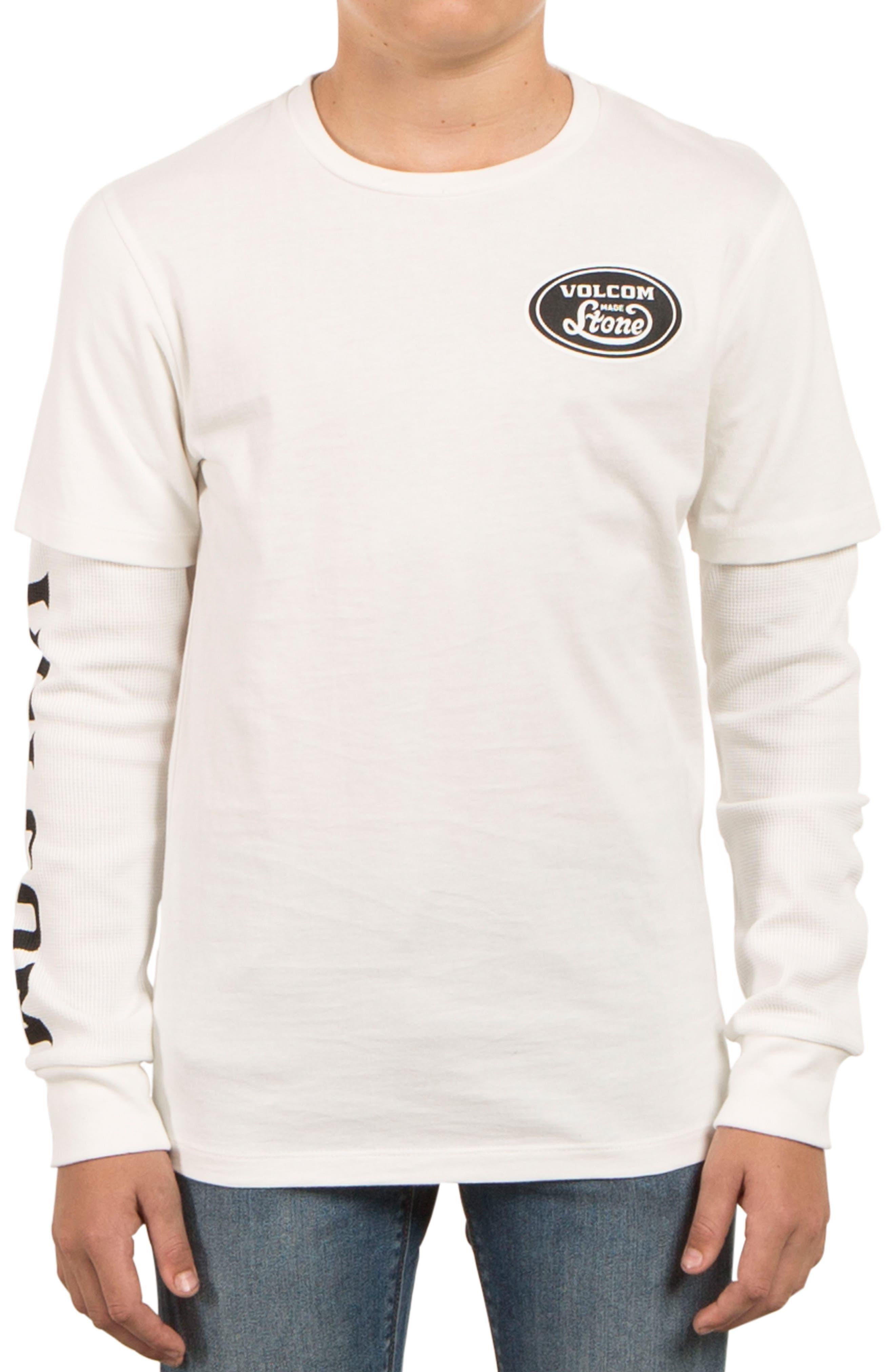 Alternate Image 1 Selected - Volcom Easton Long Sleeve T-Shirt (Big Boys)
