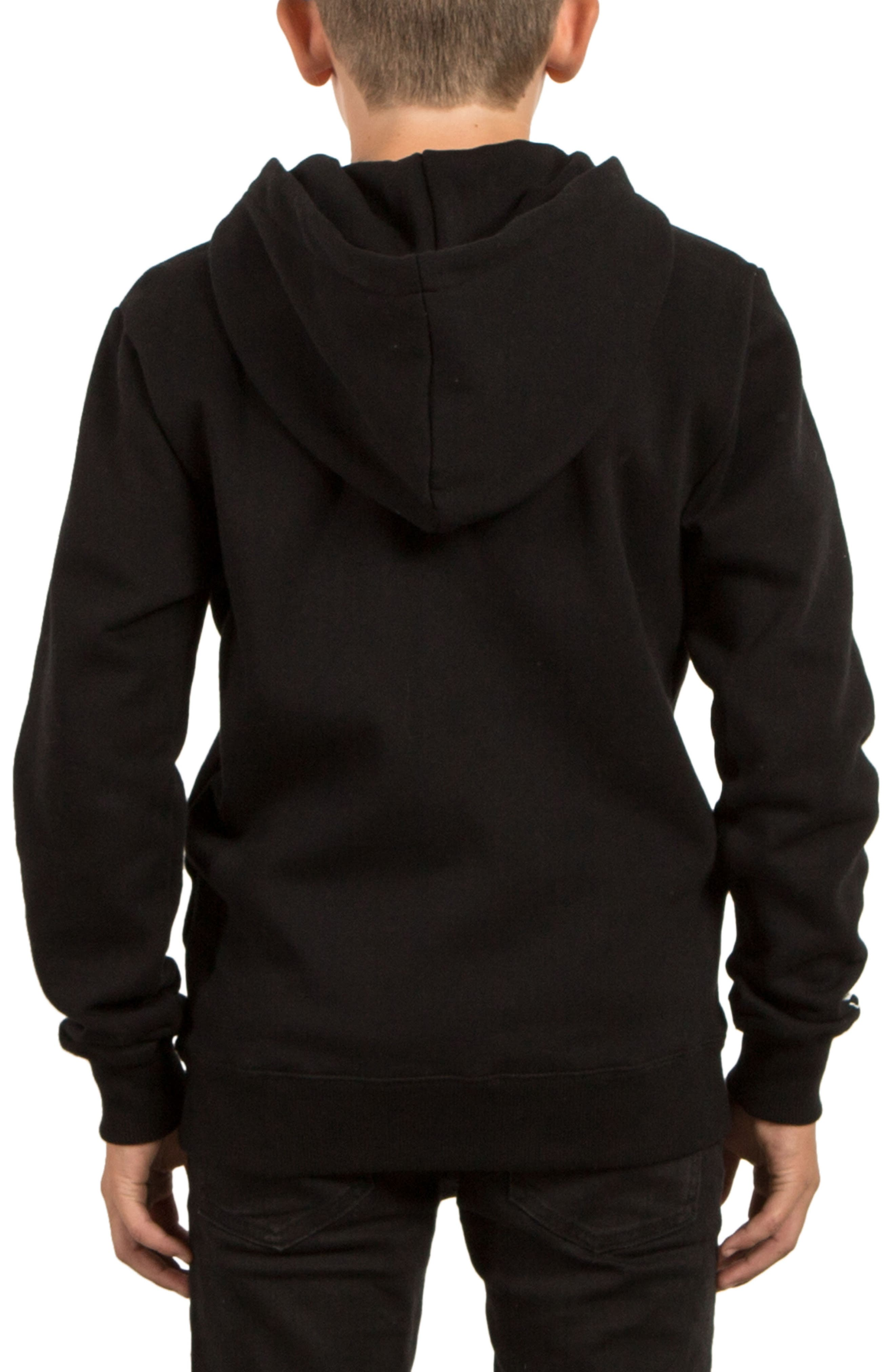 Alternate Image 2  - Volcom Supply Stone Zip Hoodie (Big Boys)