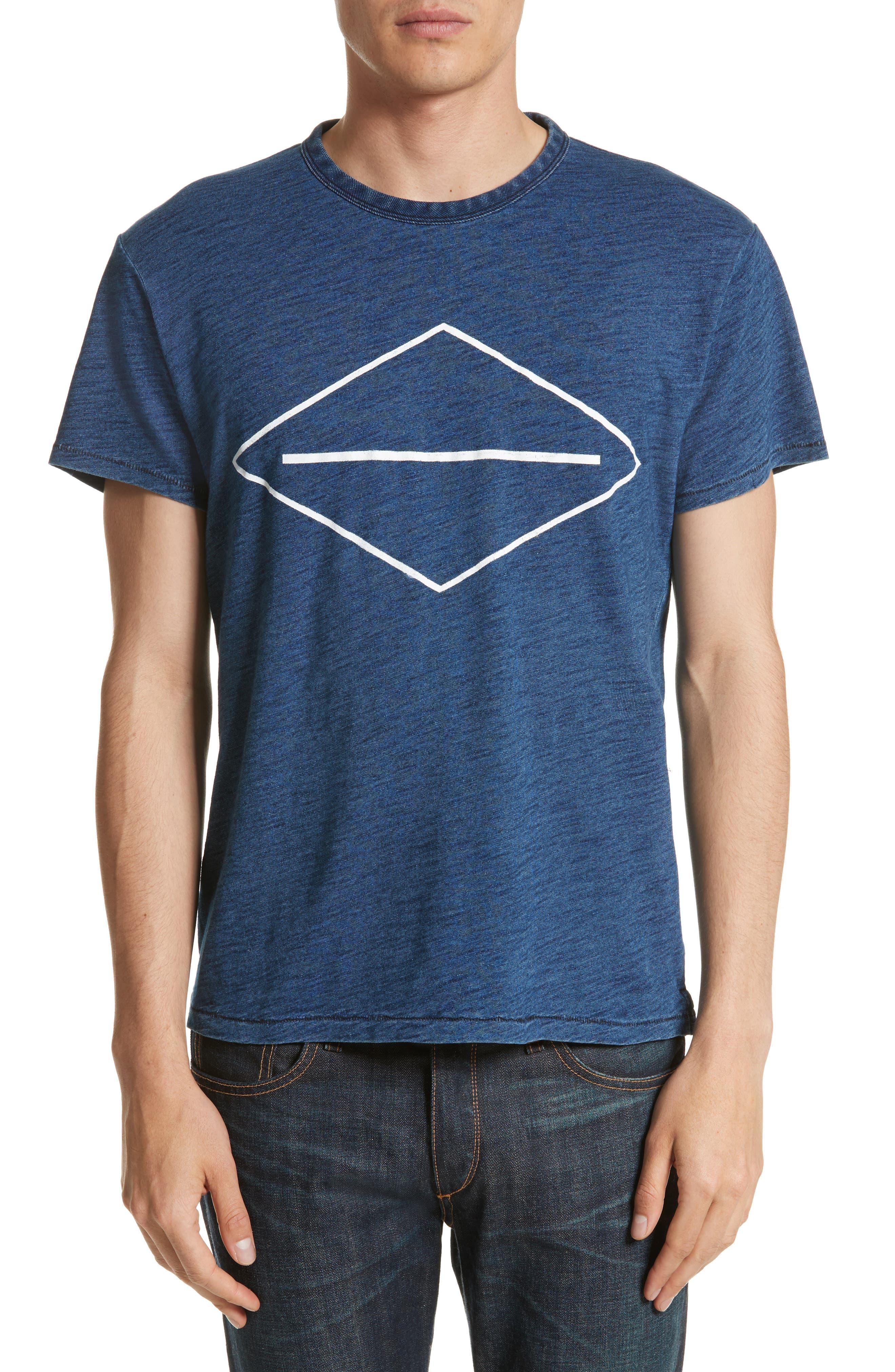 Graphic T-Shirt,                         Main,                         color, Indigo
