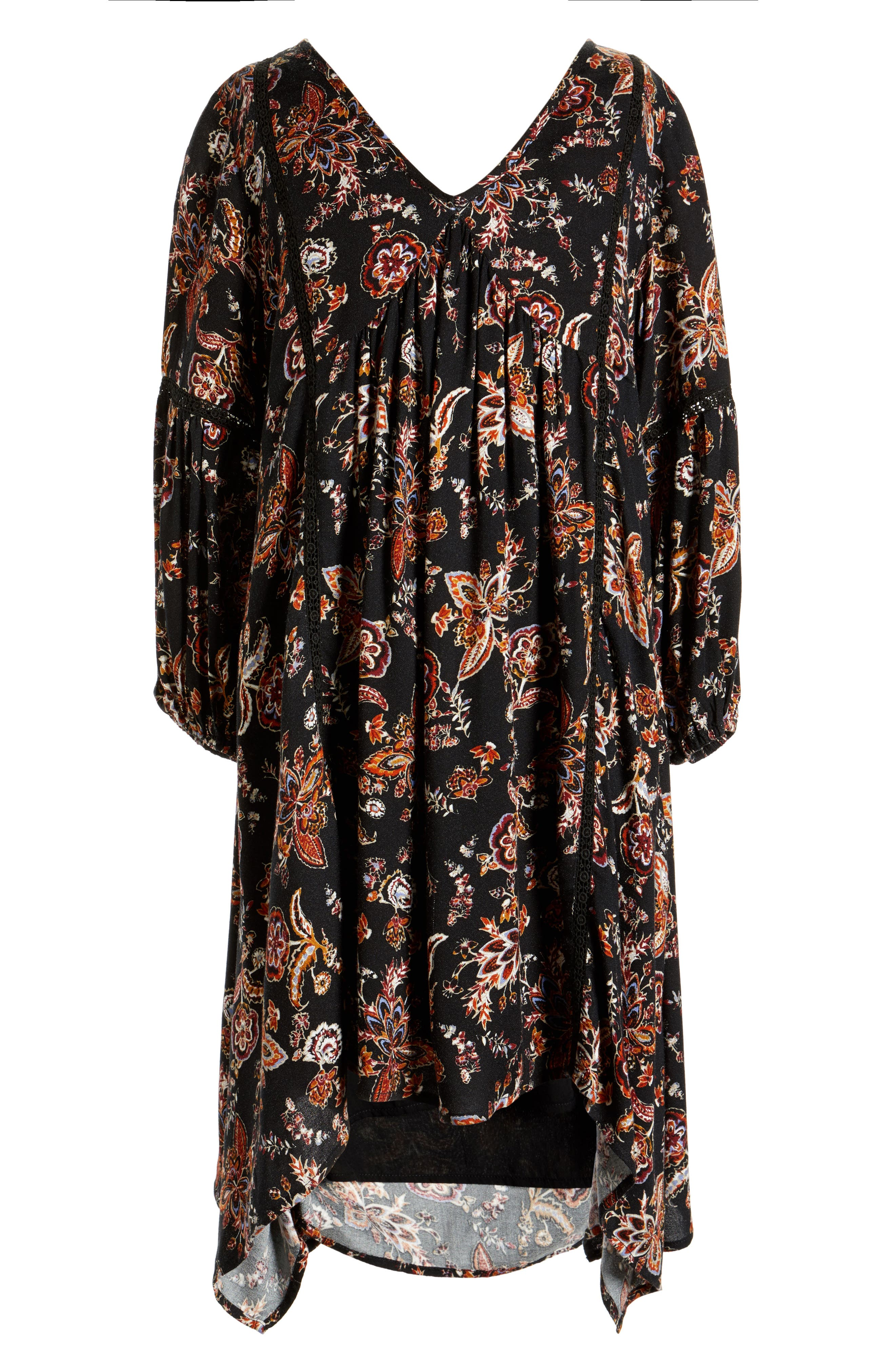 Alternate Image 1 Selected - For All Seasons Floral Print Dress (Big Girls)