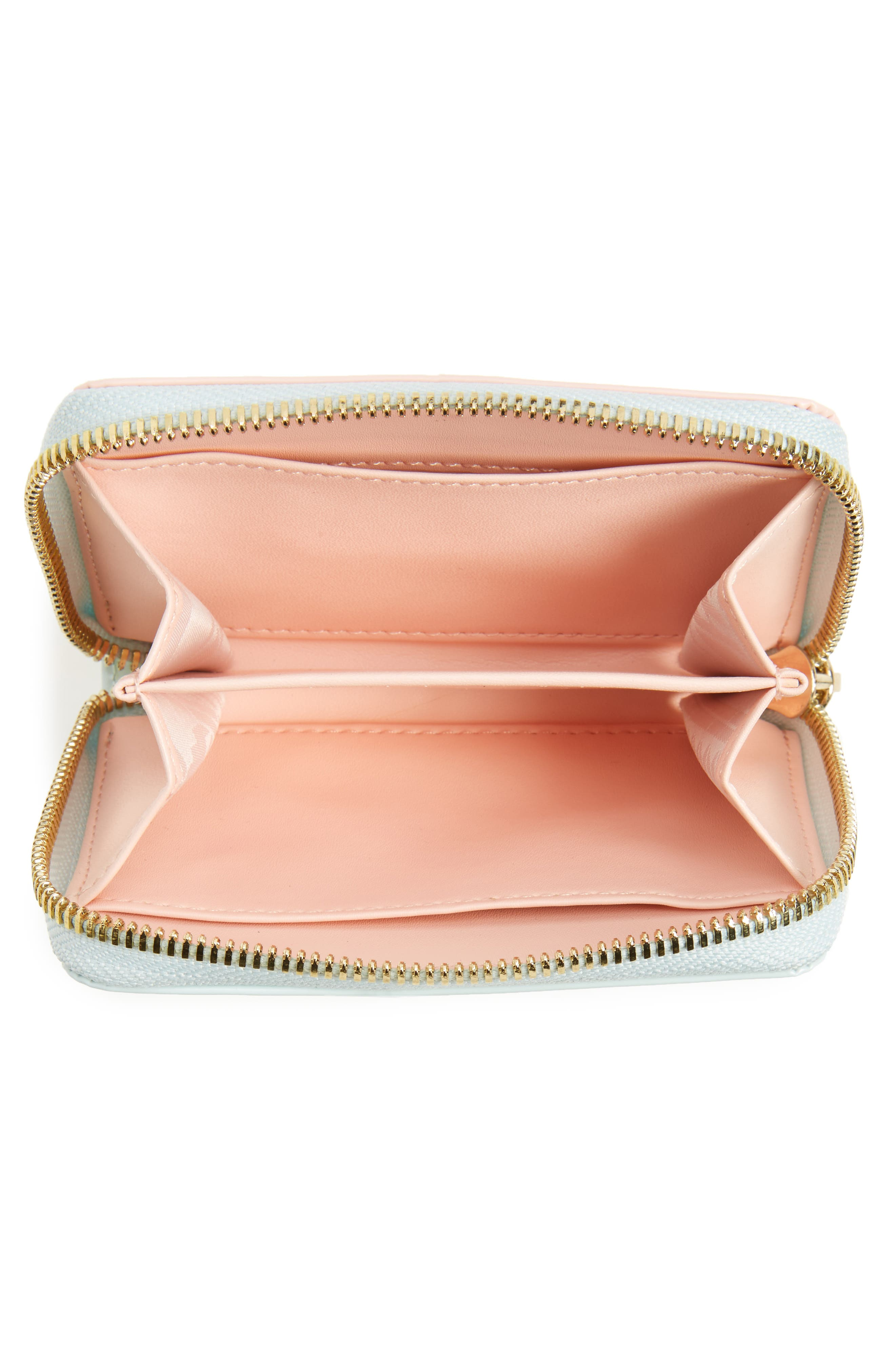 Alternate Image 2  - Ted Baker London Beryl Leather Mini Purse