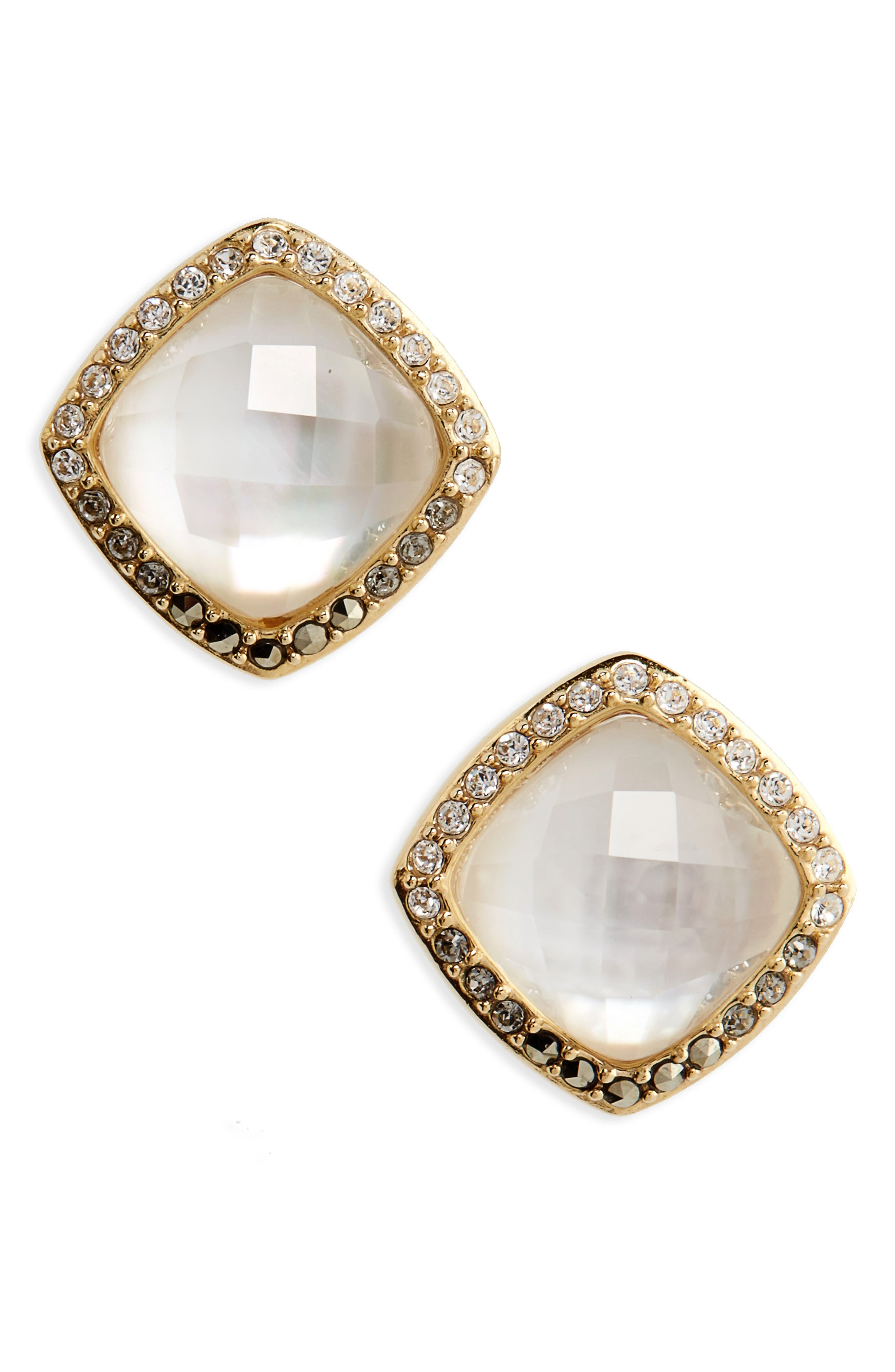 Judith Jack Tropical Touches Doublet Stud Earrings