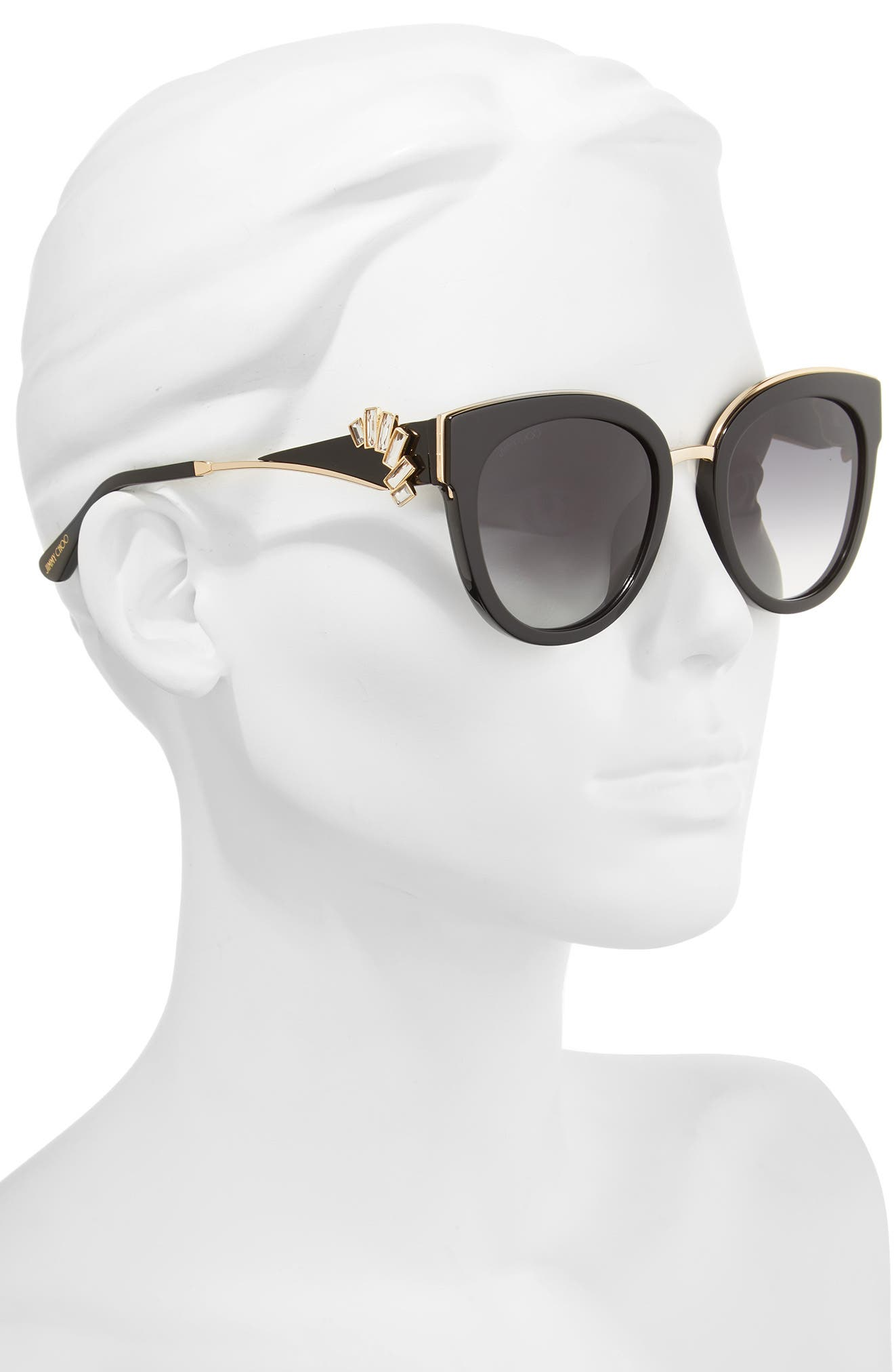 Alternate Image 2  - Jimmy Choo Jade's 53mm Gradient Cat Eye Sunglasses
