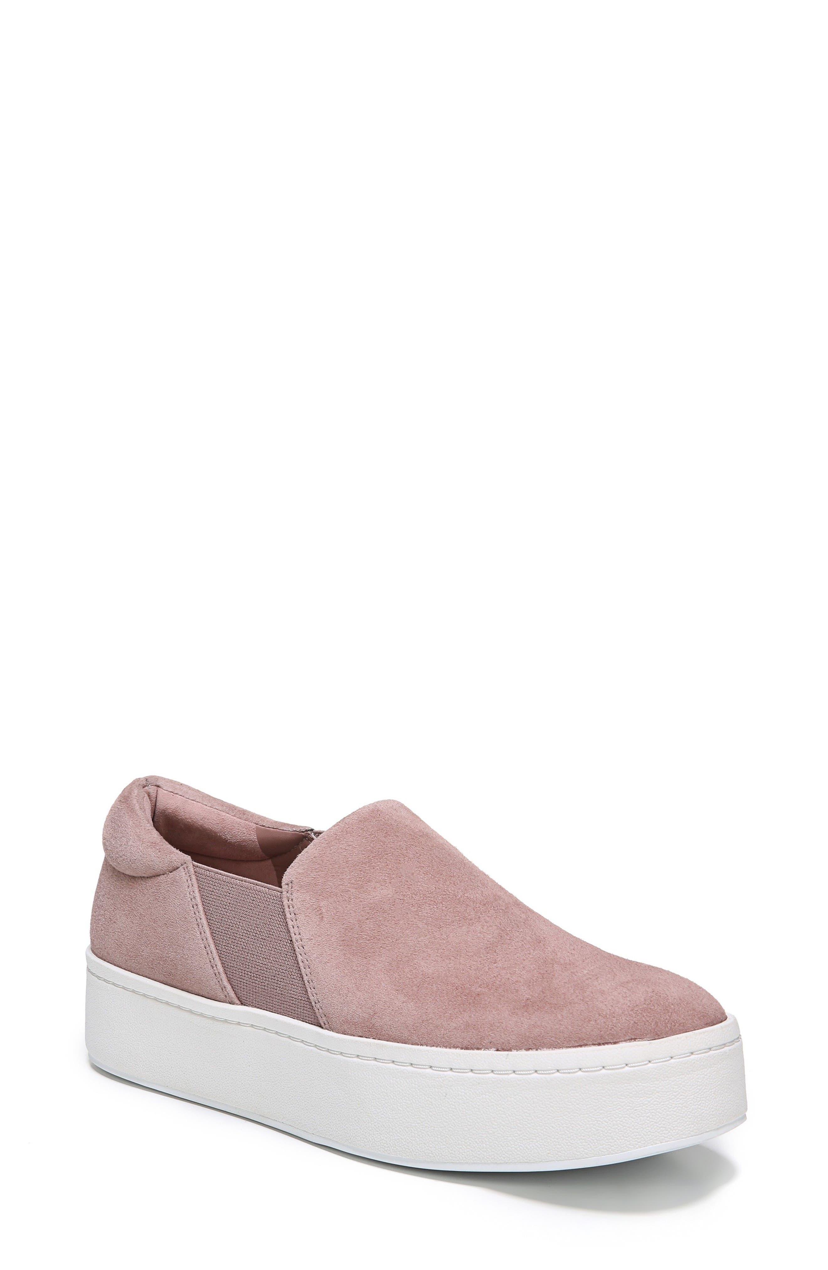 Warren Slip-On Sneaker,                         Main,                         color, Hydrangea Suede