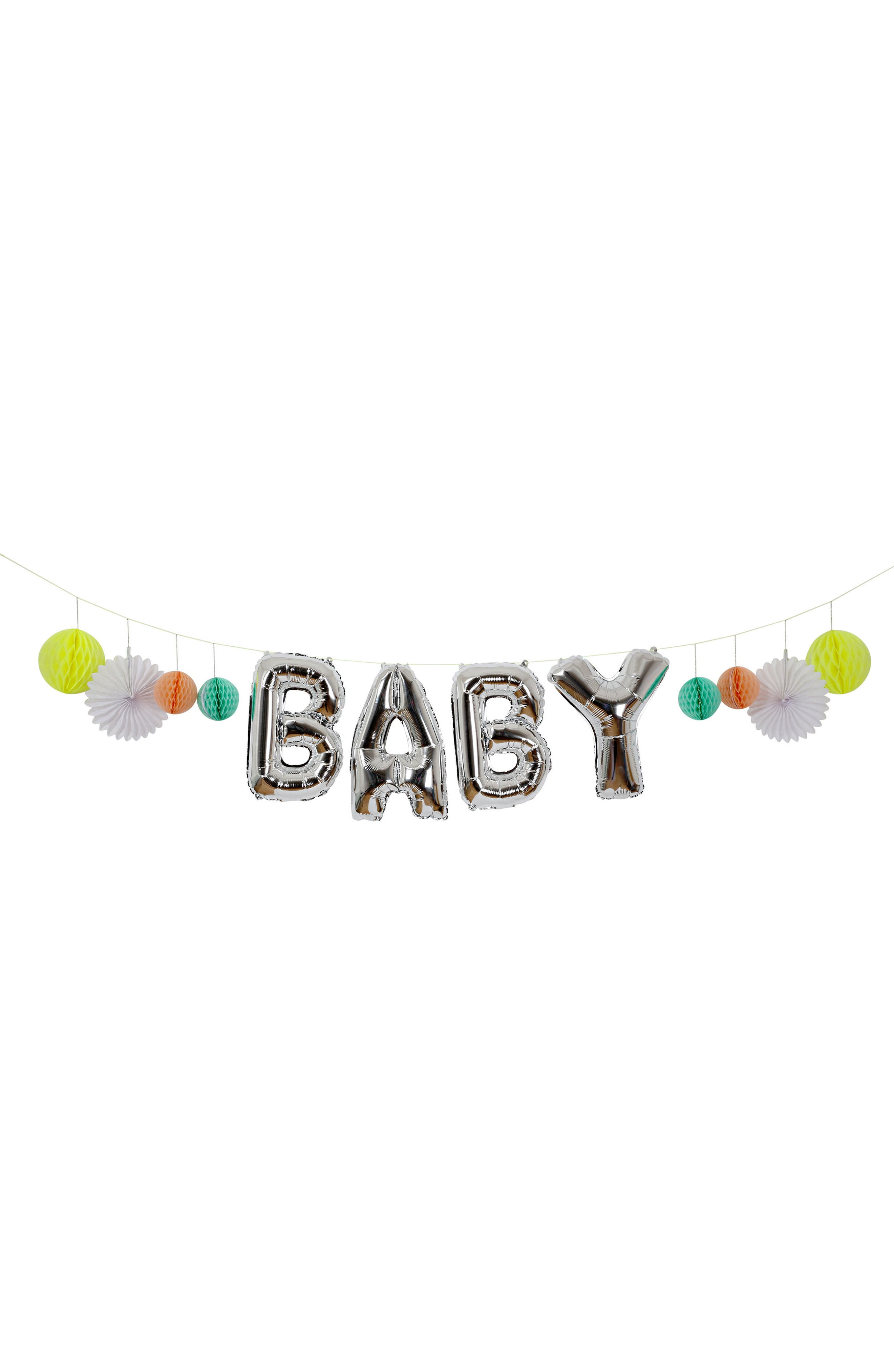 Baby Shower Party Kit,                             Alternate thumbnail 12, color,                             Green