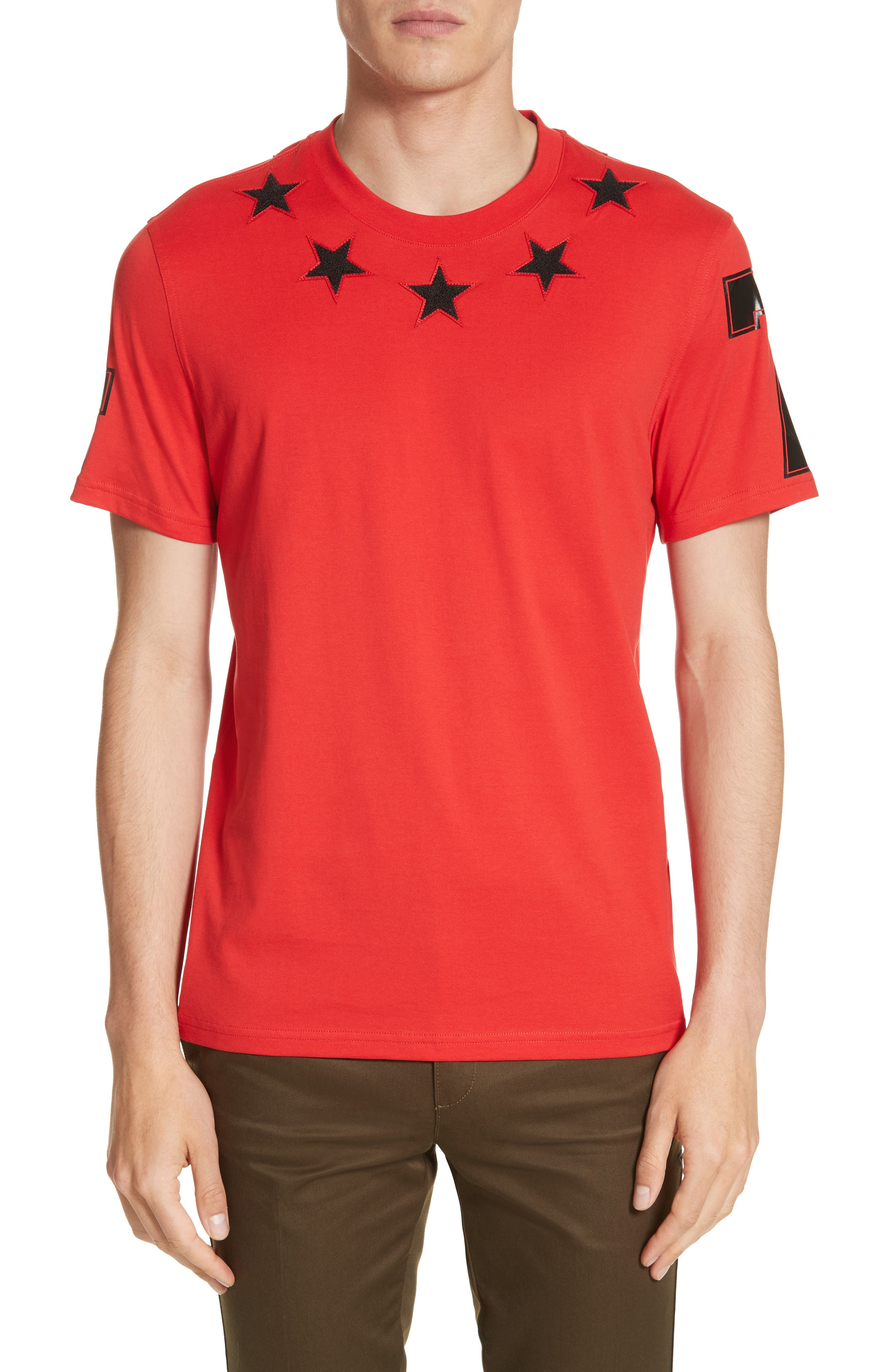 Givenchy Cuban Fit Star 74 T-Shirt