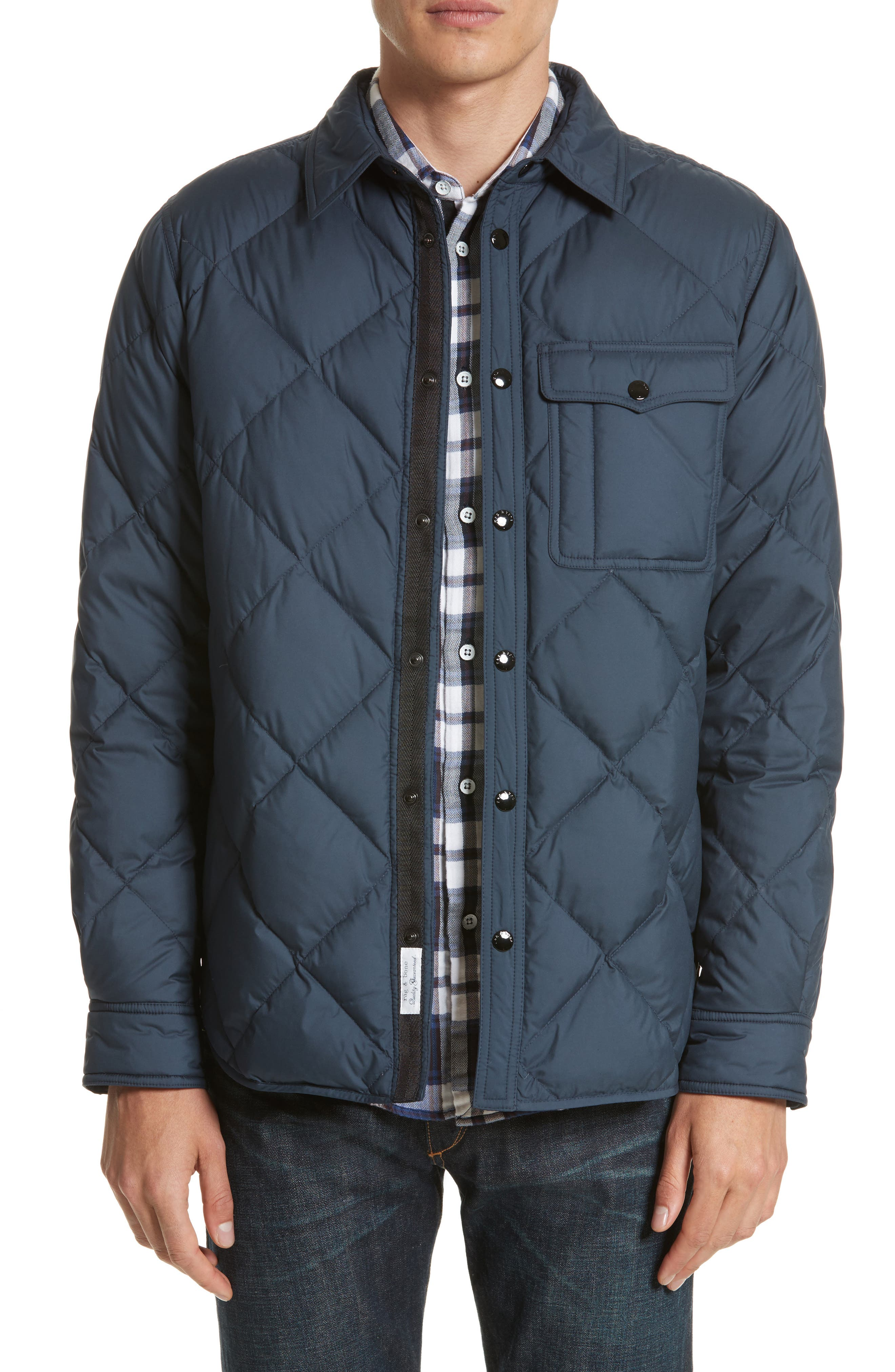 Mallory Quilted Jacket,                         Main,                         color, Salute