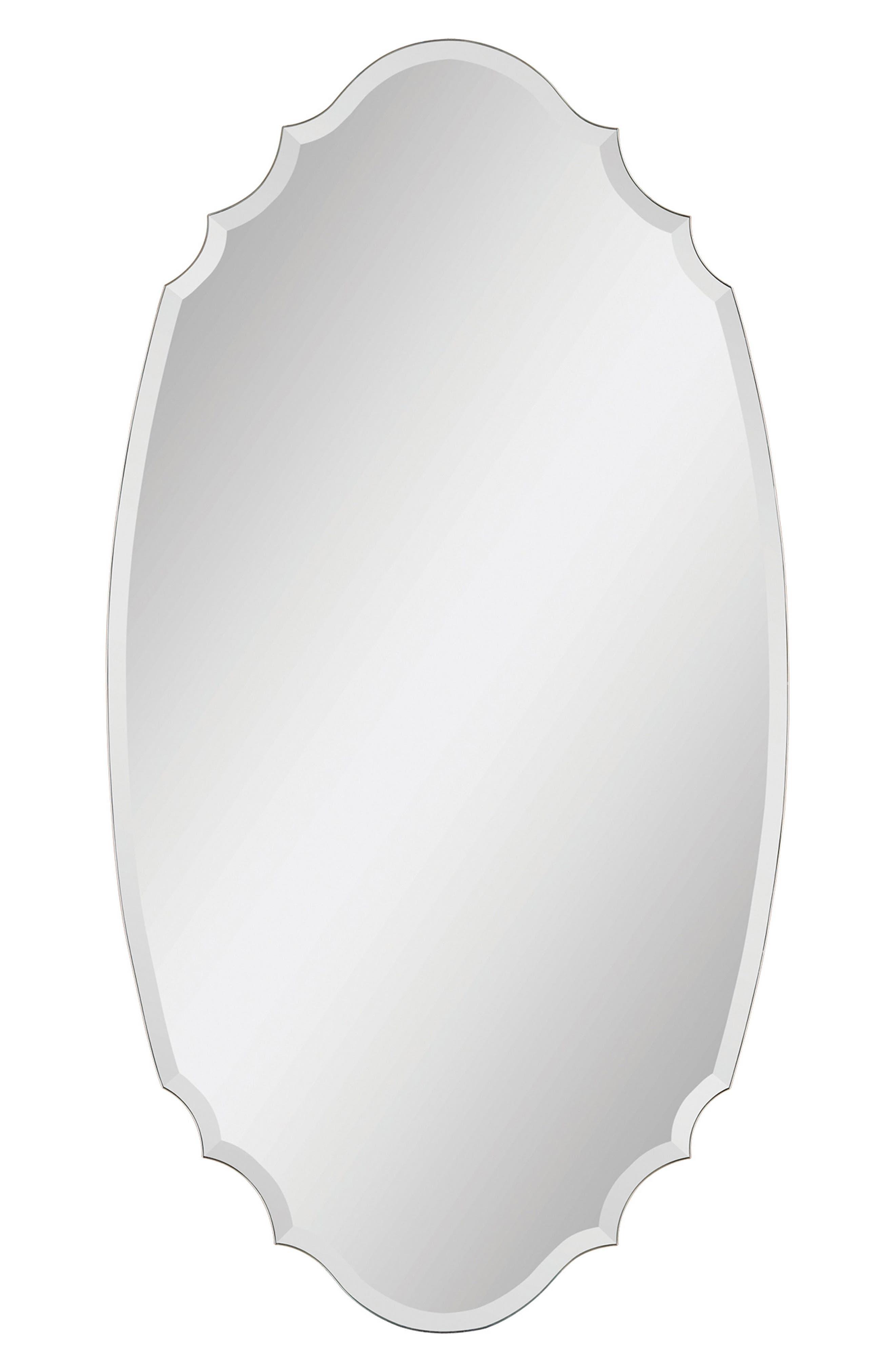 Tristan Mirror,                             Main thumbnail 1, color,                             Clear