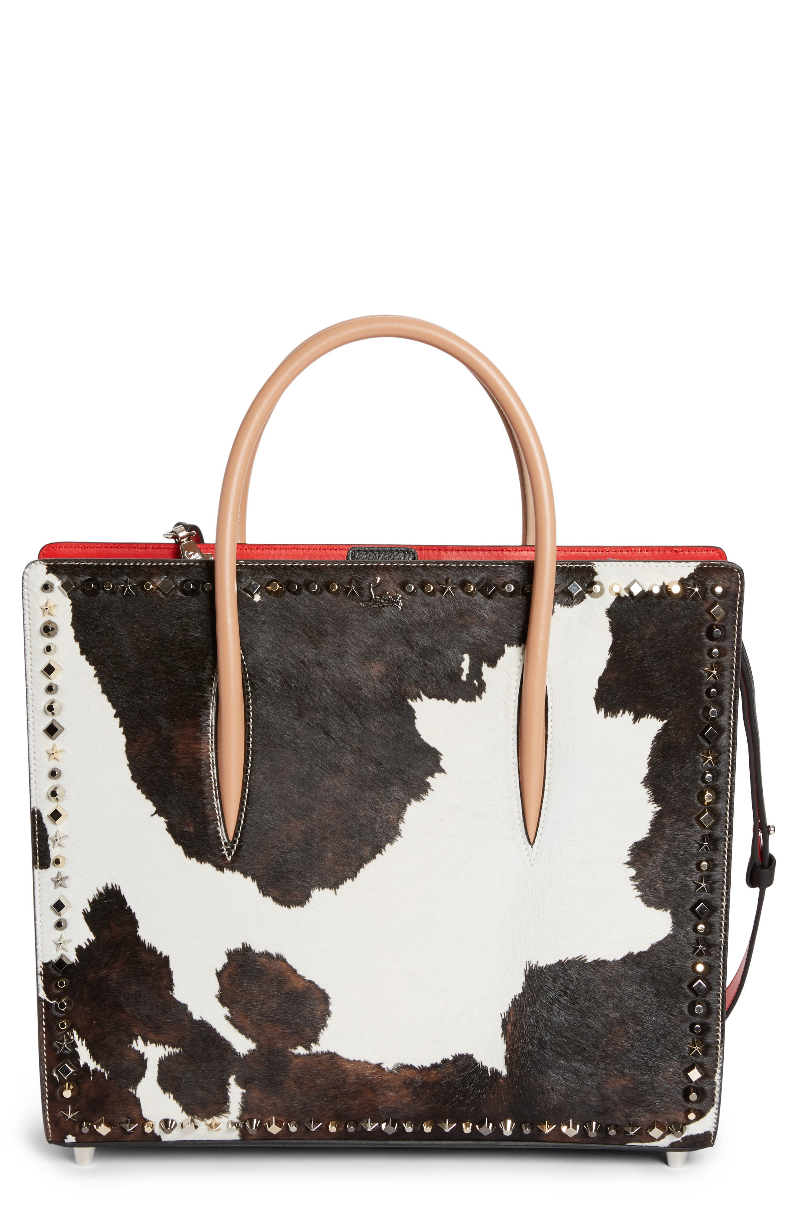 Christian Louboutin Large Paloma Cowboy Genuine Calf Hair Tote