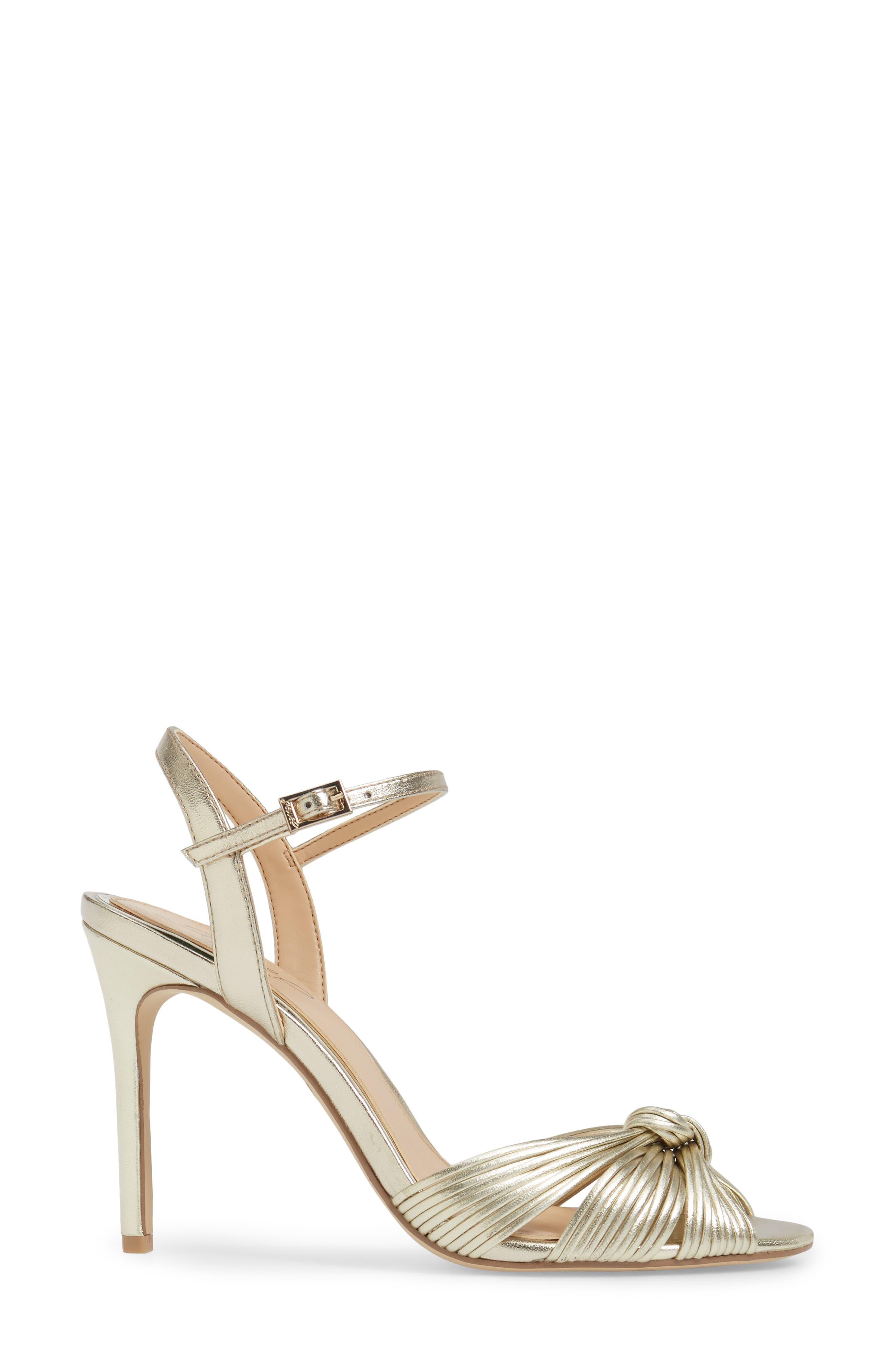 Alternate Image 3  - Jewel Badgley Mischka Lady Ankle Strap Sandal (Women)