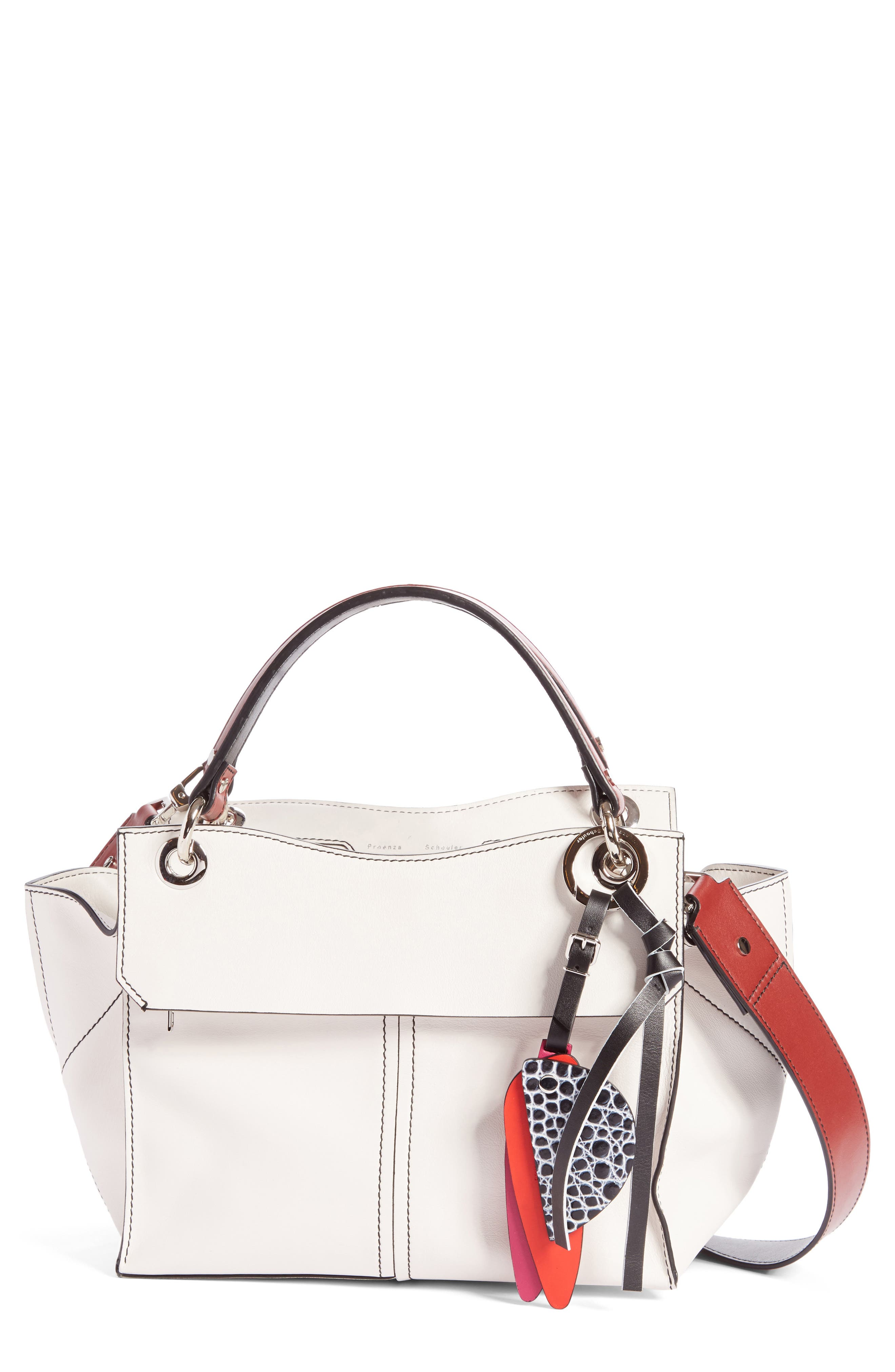 Alternate Image 1 Selected - Proenza Schouler Curl Leather Shoulder Bag