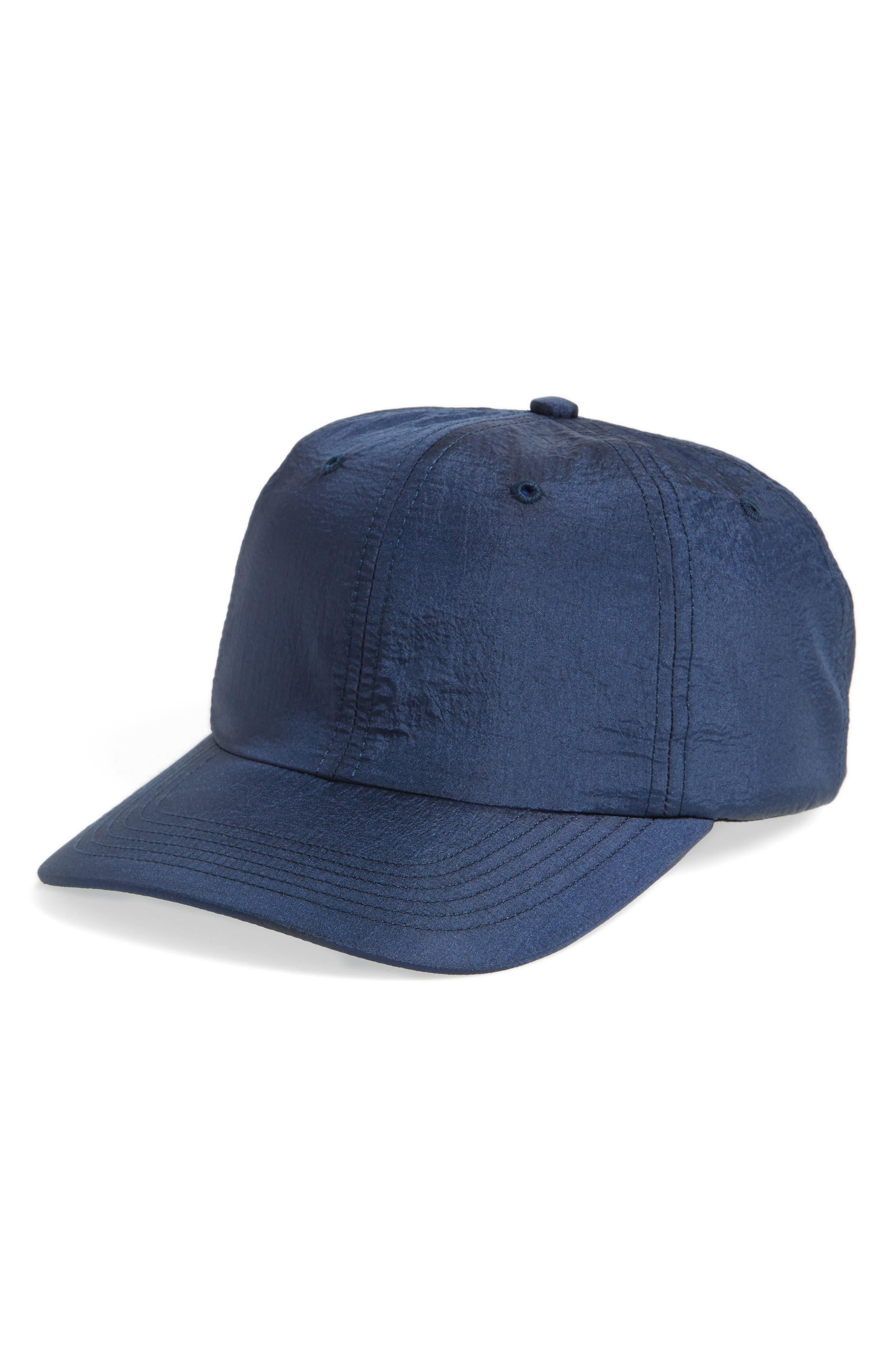 Nylon Ball Cap,                         Main,                         color, Navy