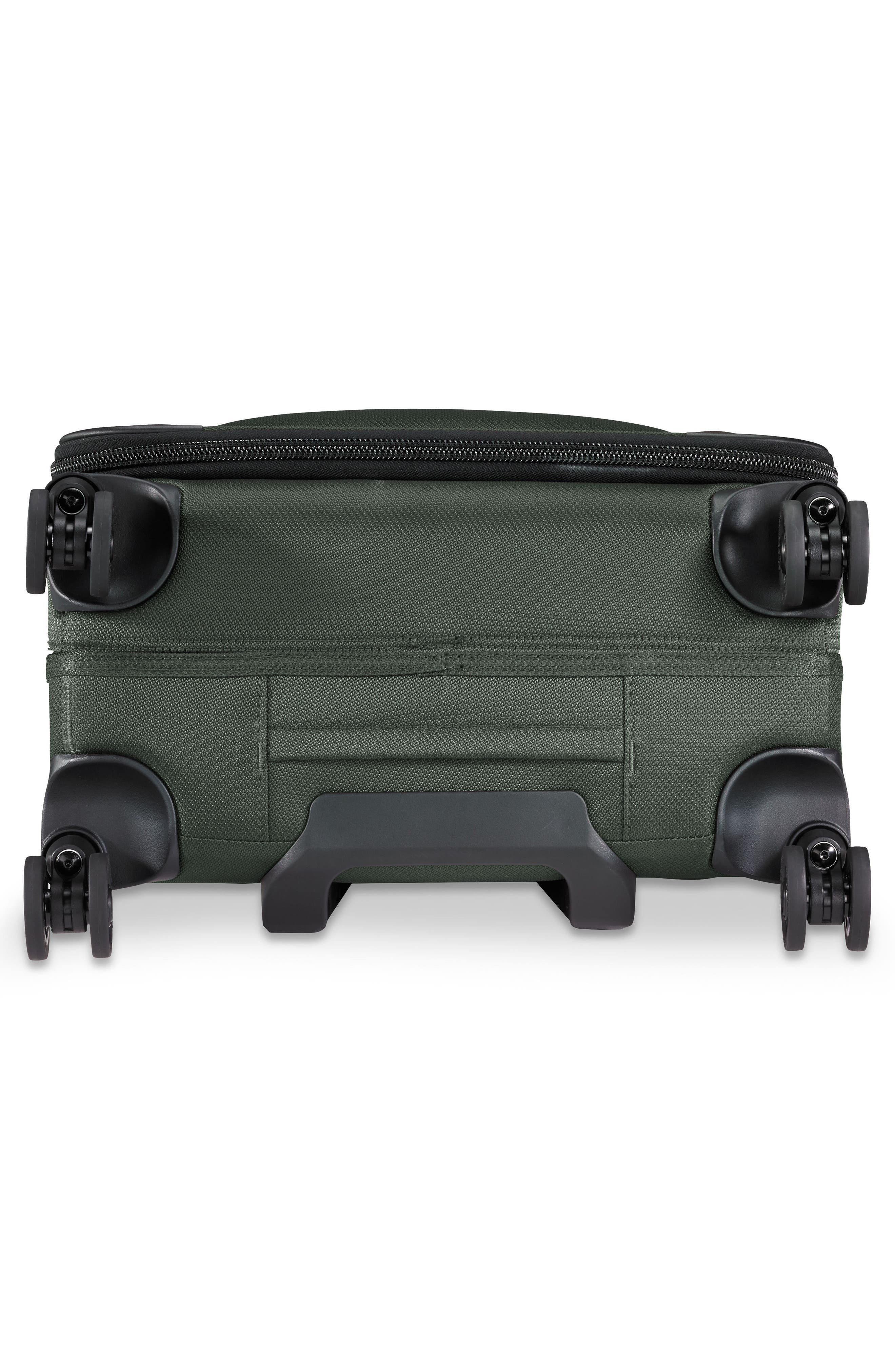 Transcend VX Wide Expandable 21-Inch Spinner Suitcase,                             Alternate thumbnail 8, color,                             Rainforest Green