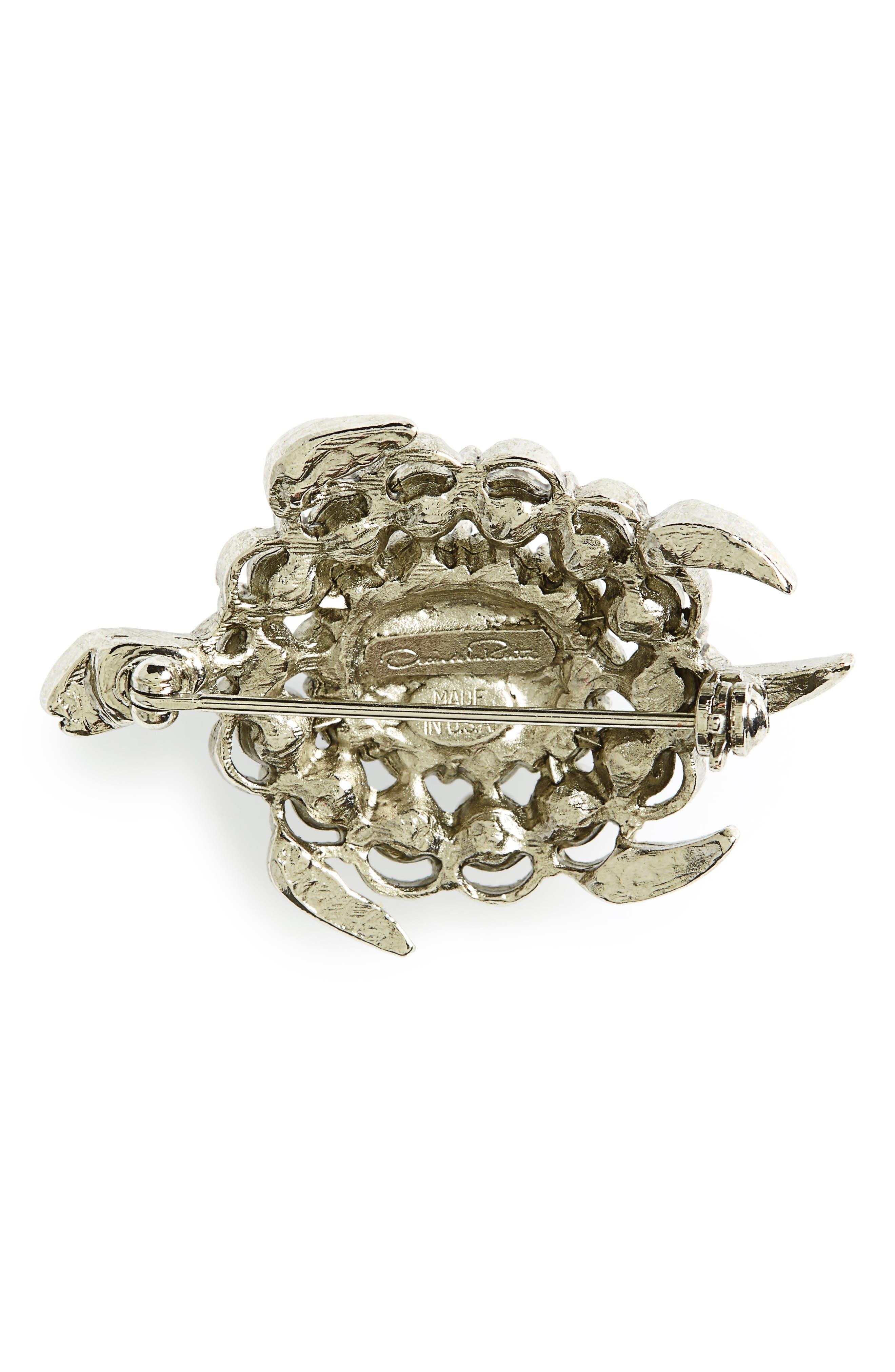 Alternate Image 2  - Oscar de la Renta Turtle Brooch