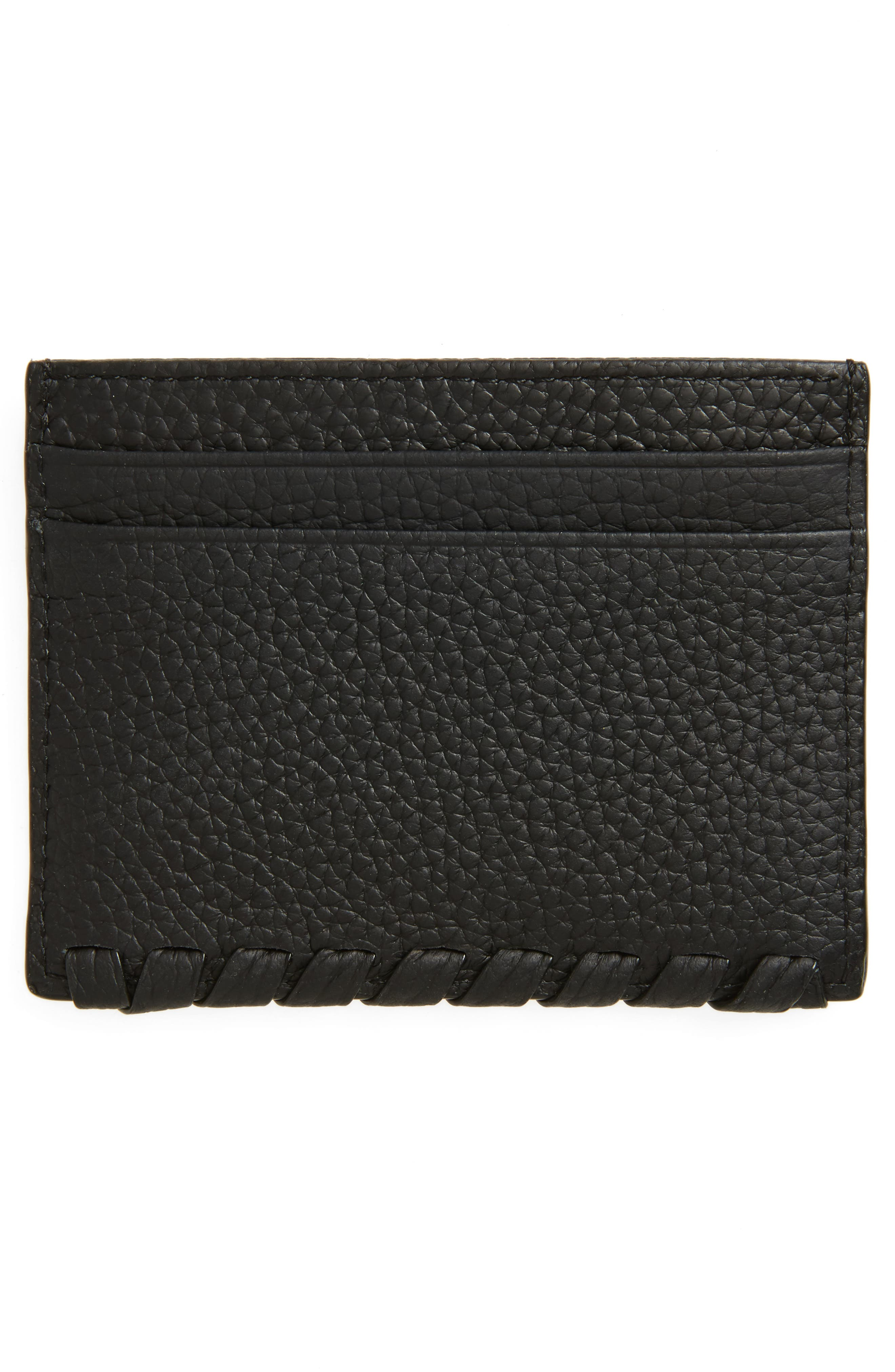 Alternate Image 2  - ALLSAINTS Kita Pebbled Leather Card Case