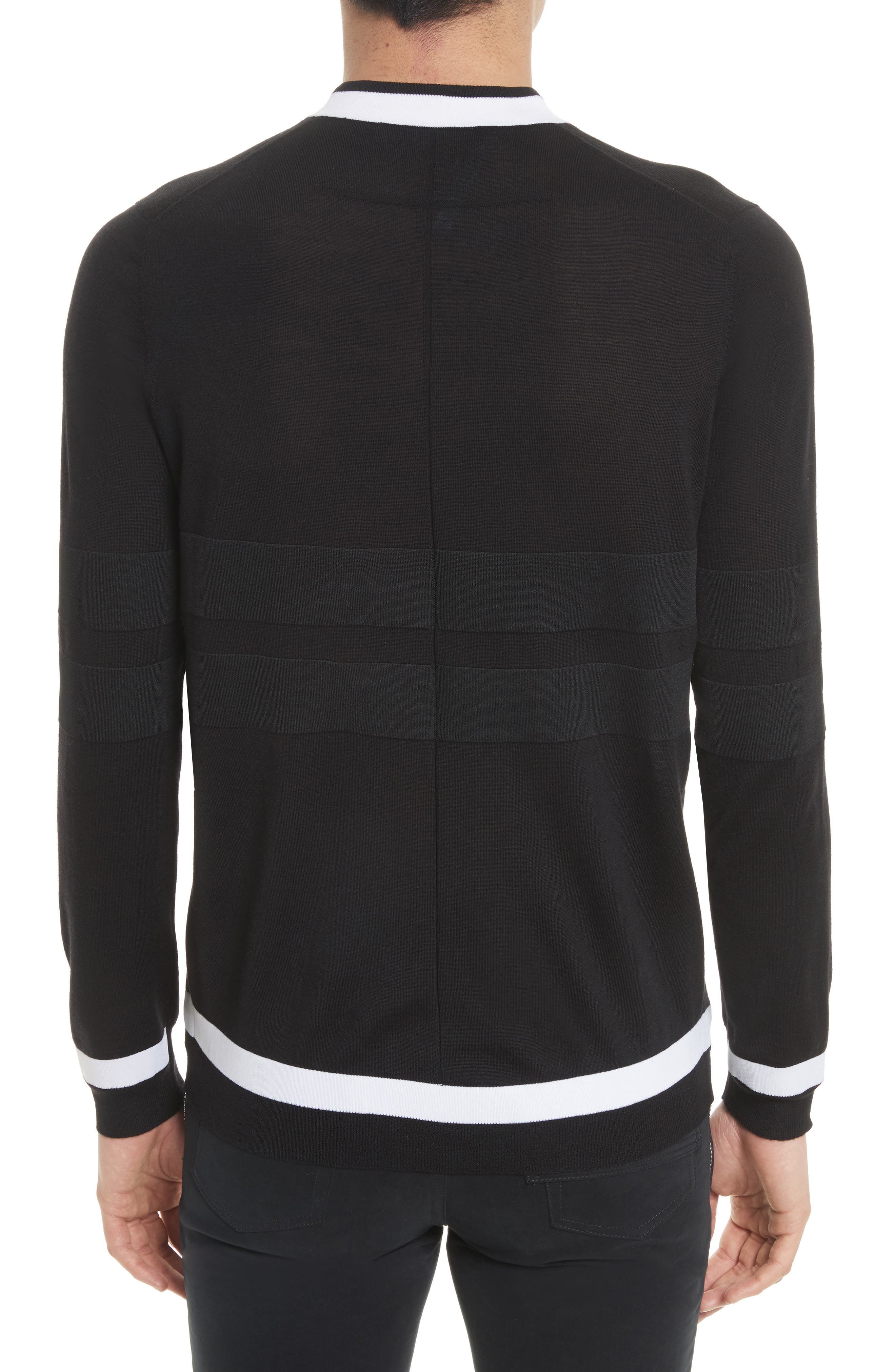 Alternate Image 2  - Givenchy Contrast Bands Wool Sweater