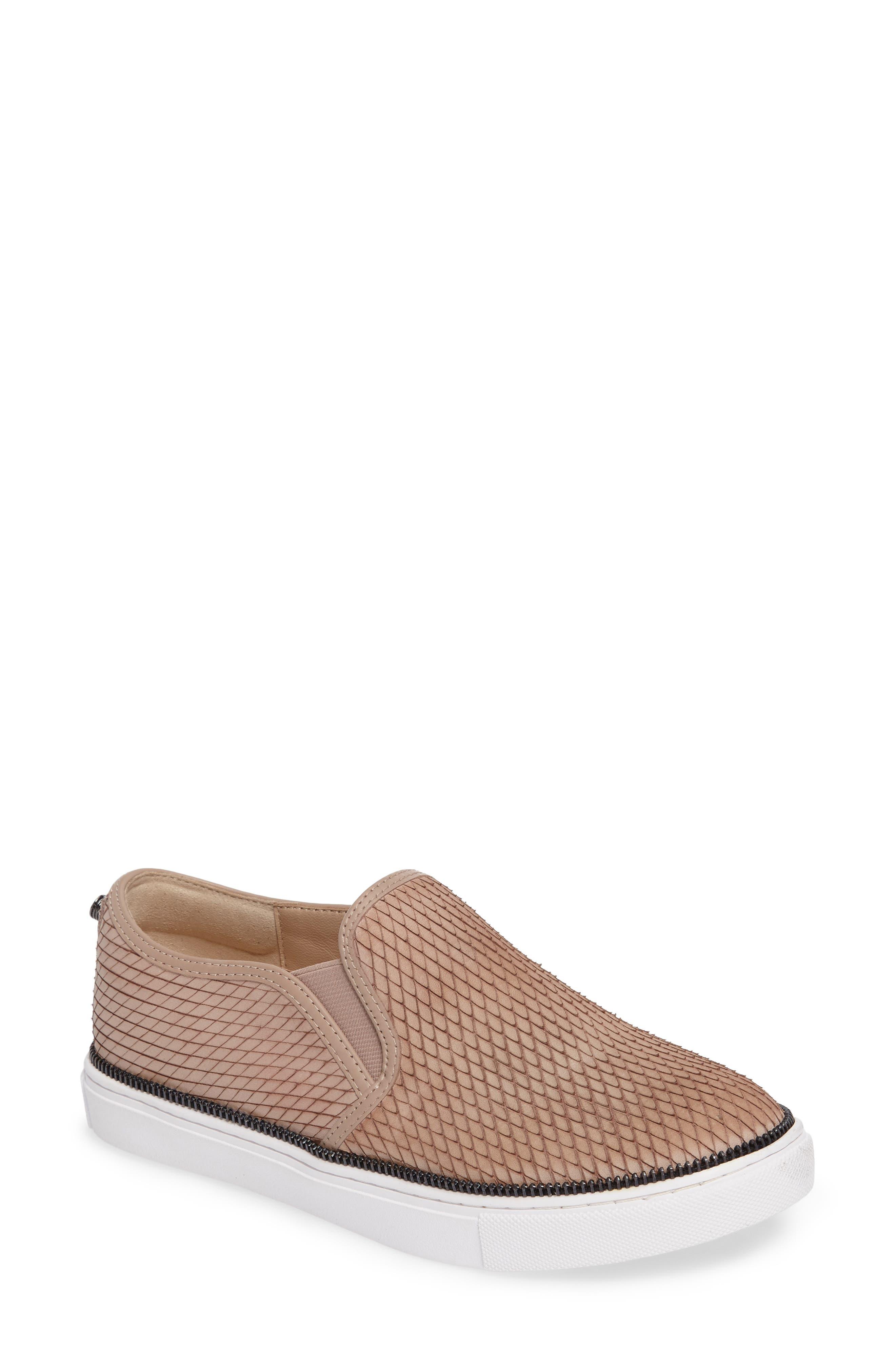Harper Slip-On Sneaker,                         Main,                         color, Blush Snake