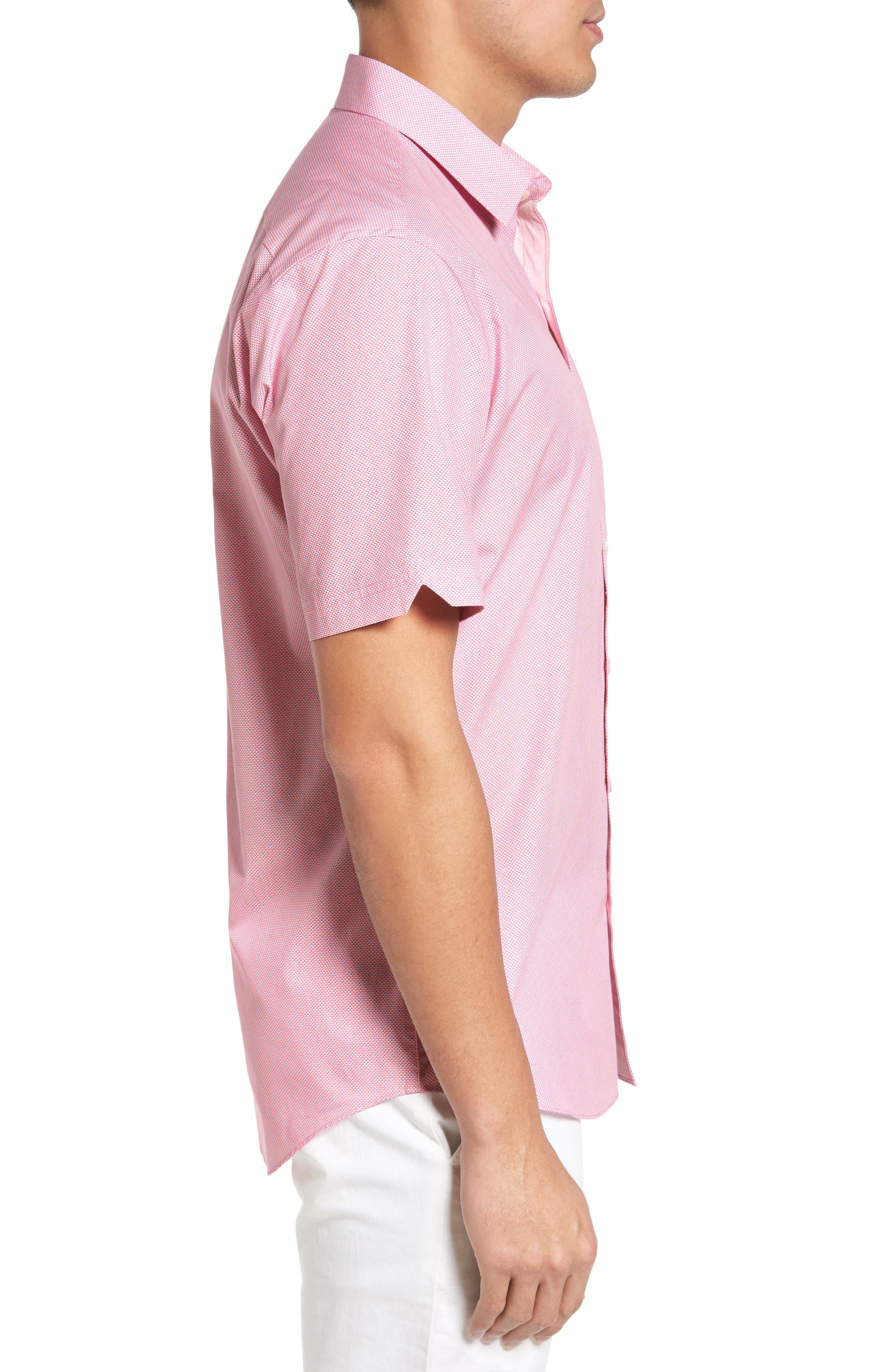 Alternate Image 3  - Zachary Prell Dardano Trim Fit Print Sport Shirt