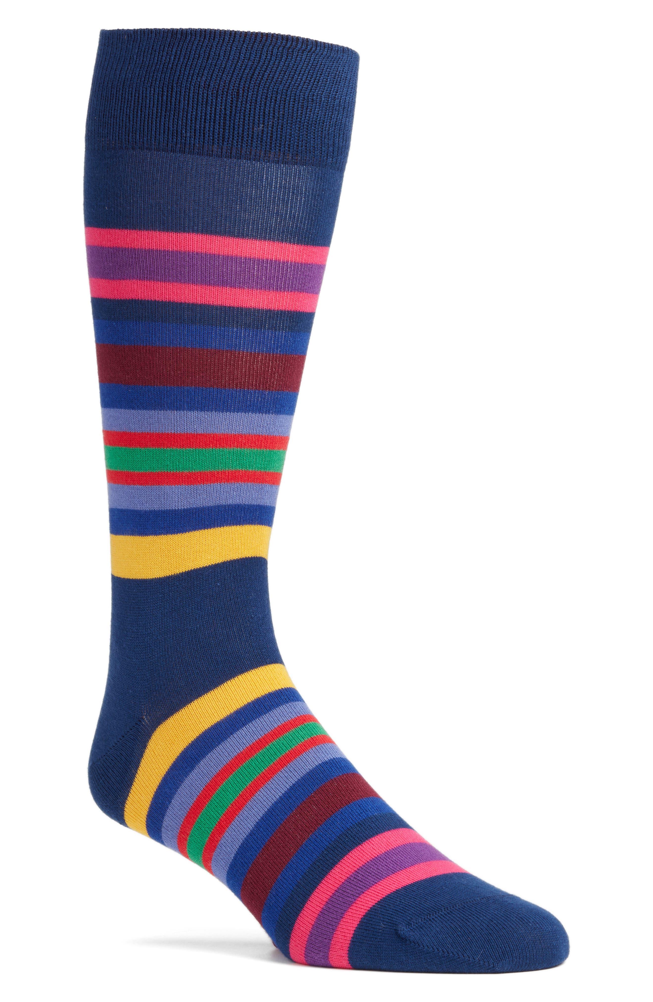 Paul Smith Kew Stripe Crew Socks