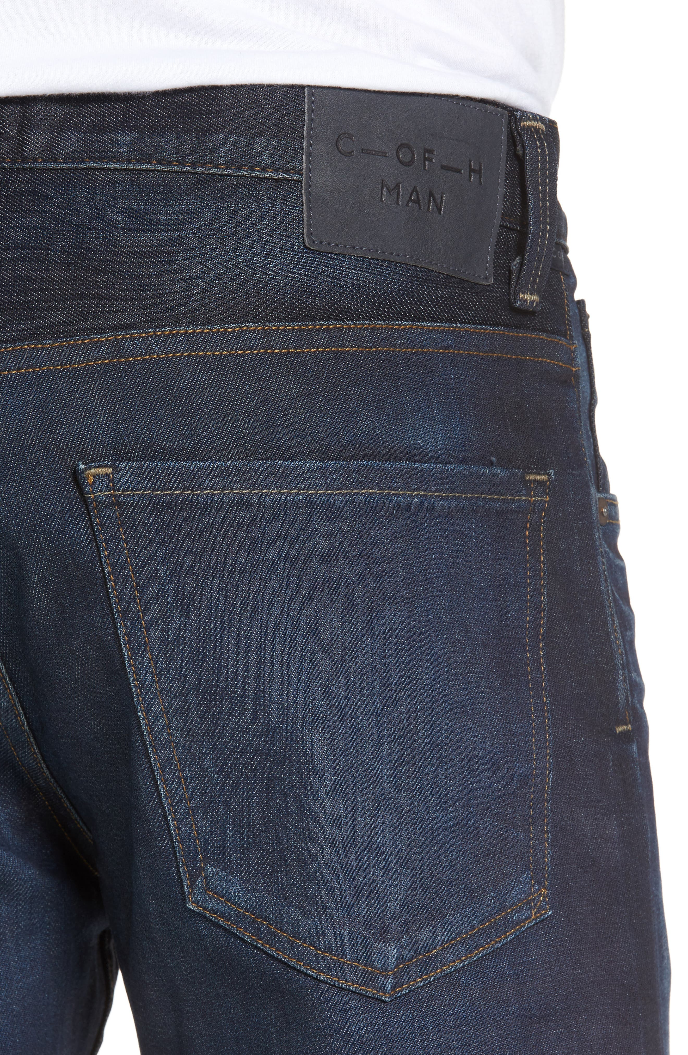 Alternate Image 4  - Citizens of Humanity Bowery Slim Fit Jeans (Huron) (Tall)