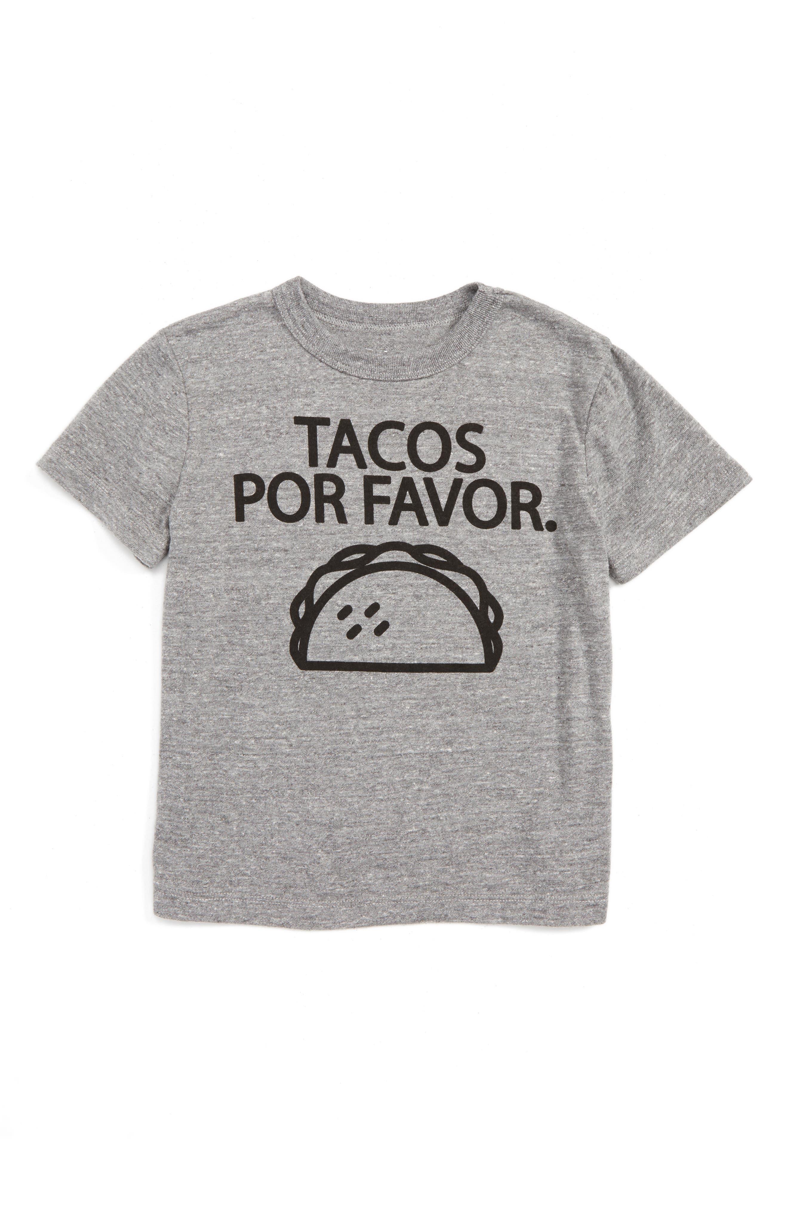 Chaser Tacos Please T-Shirt (Toddler Boys & Little Boys)
