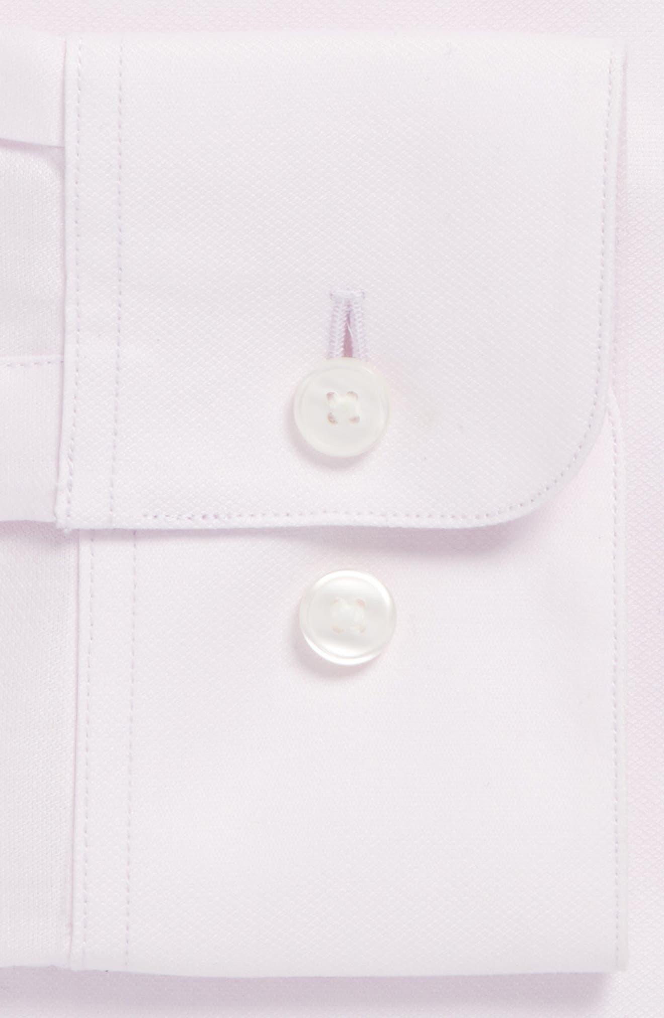Alternate Image 4  - John Varvatos Star USA Slim Fit Solid Stretch Dress Shirt