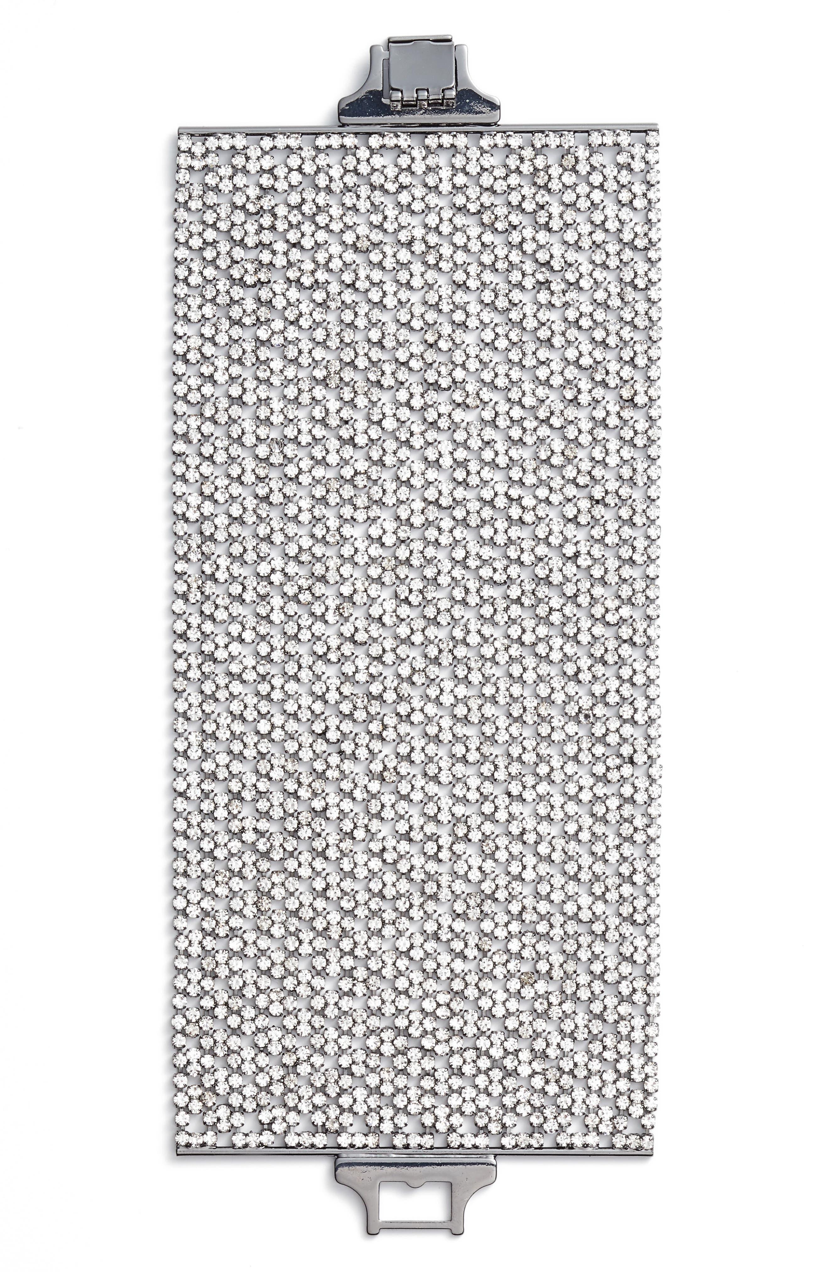 CRISTABELLE Wide Crystal Bracelet