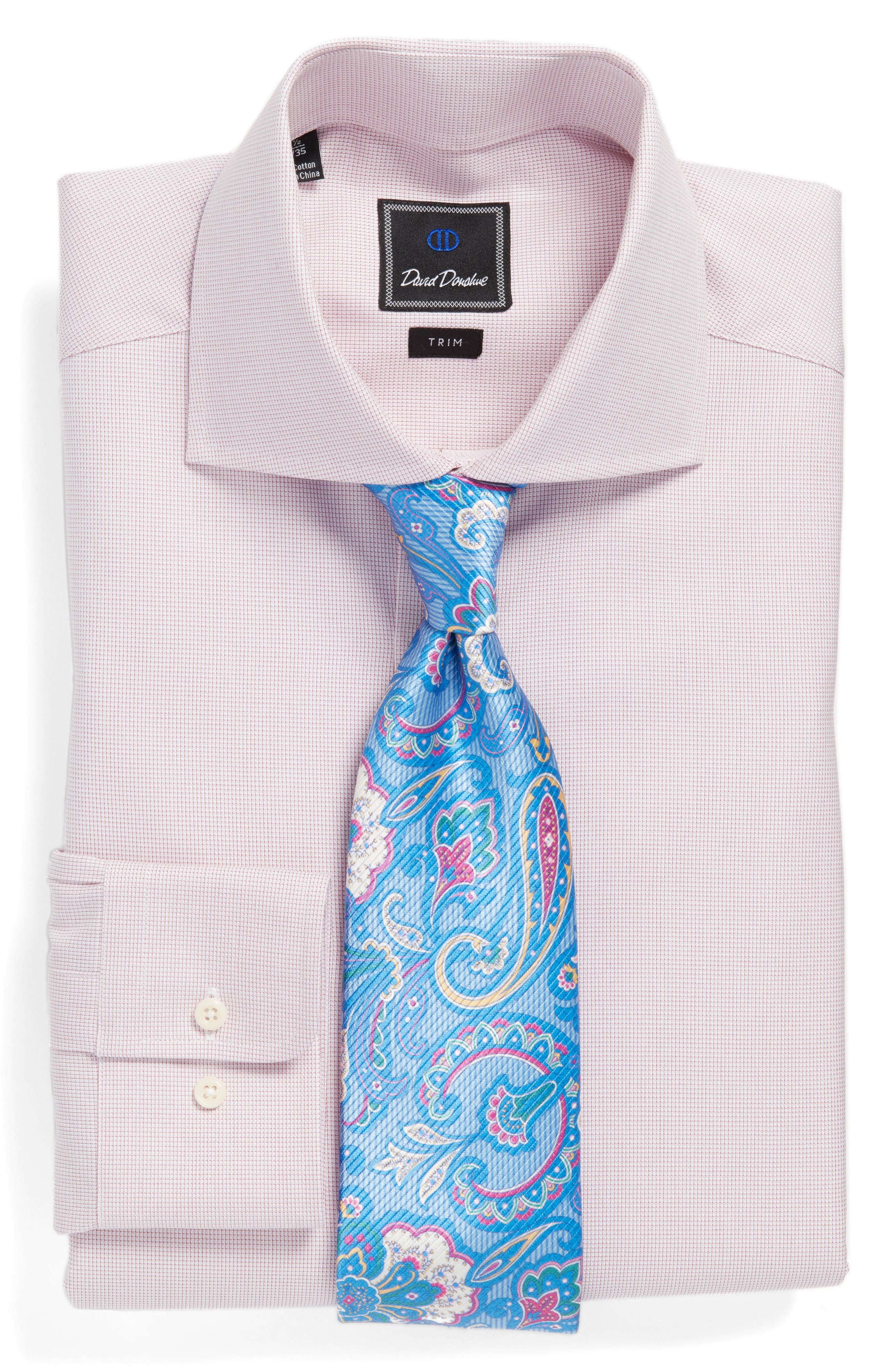 Alternate Image 3  - David Donahue Paisley Silk Tie