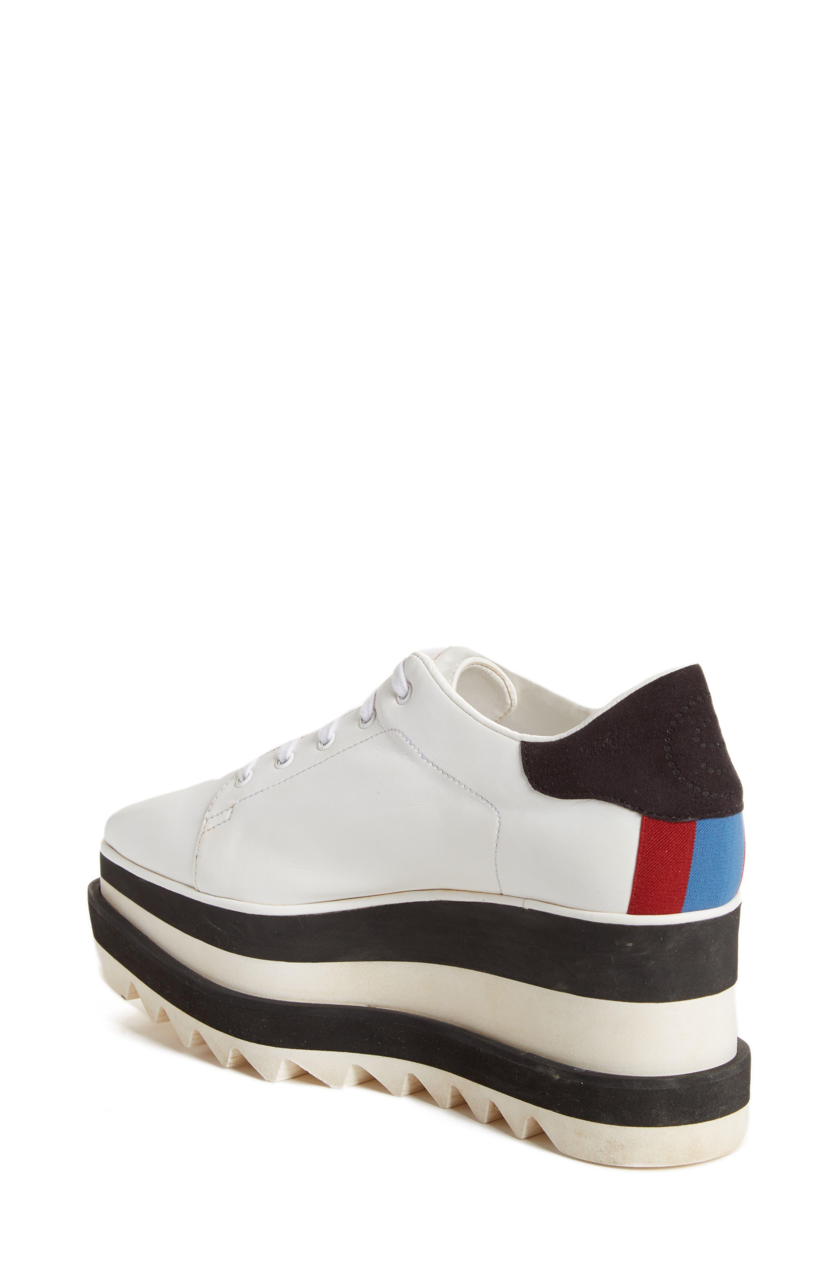 Alternate Image 2  - Stella McCartney Sneak-Elyse Flatform Sneaker (Women)