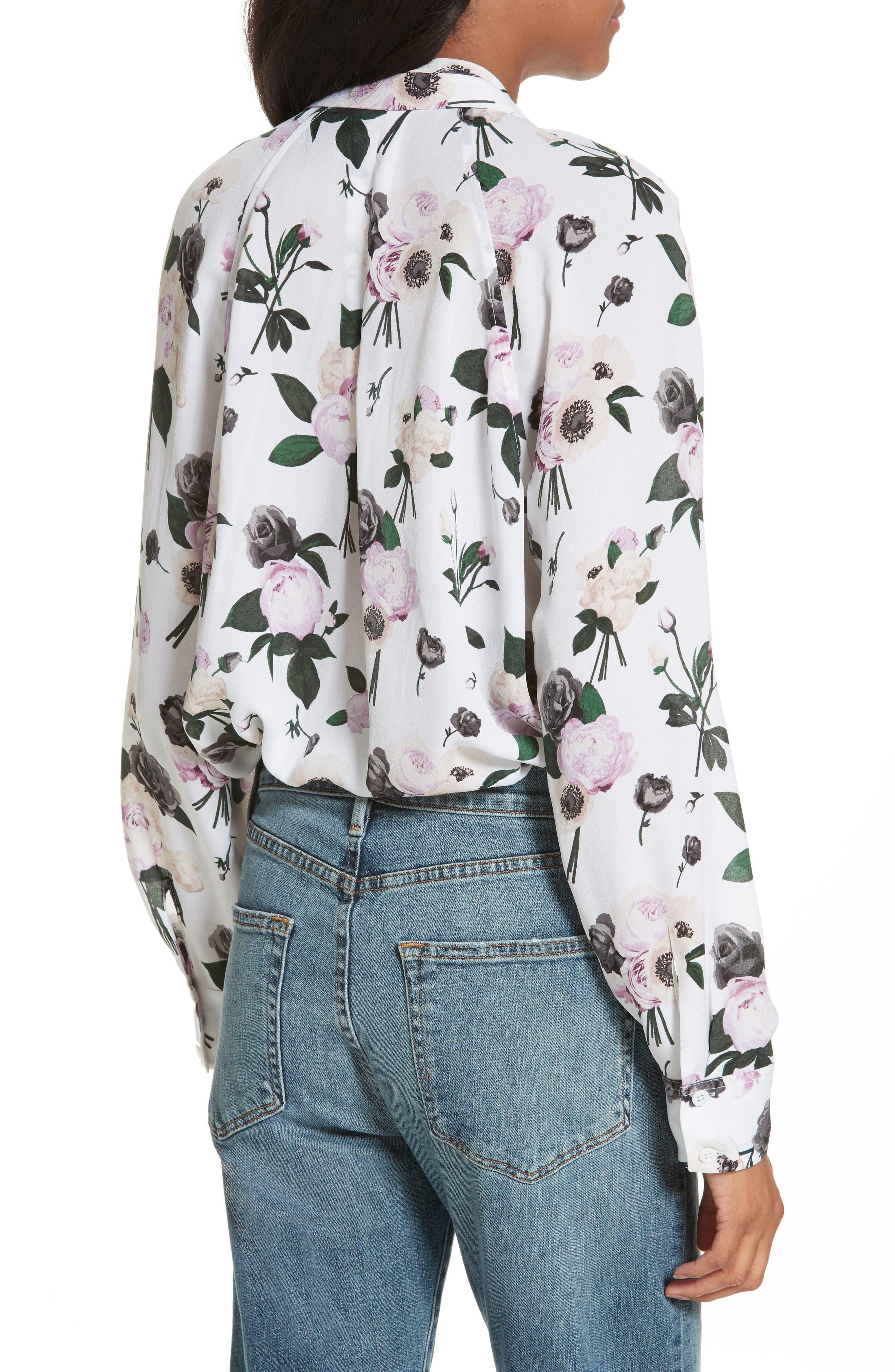 Alternate Image 2  - Equipment Liana Floral Print Silk Blouse