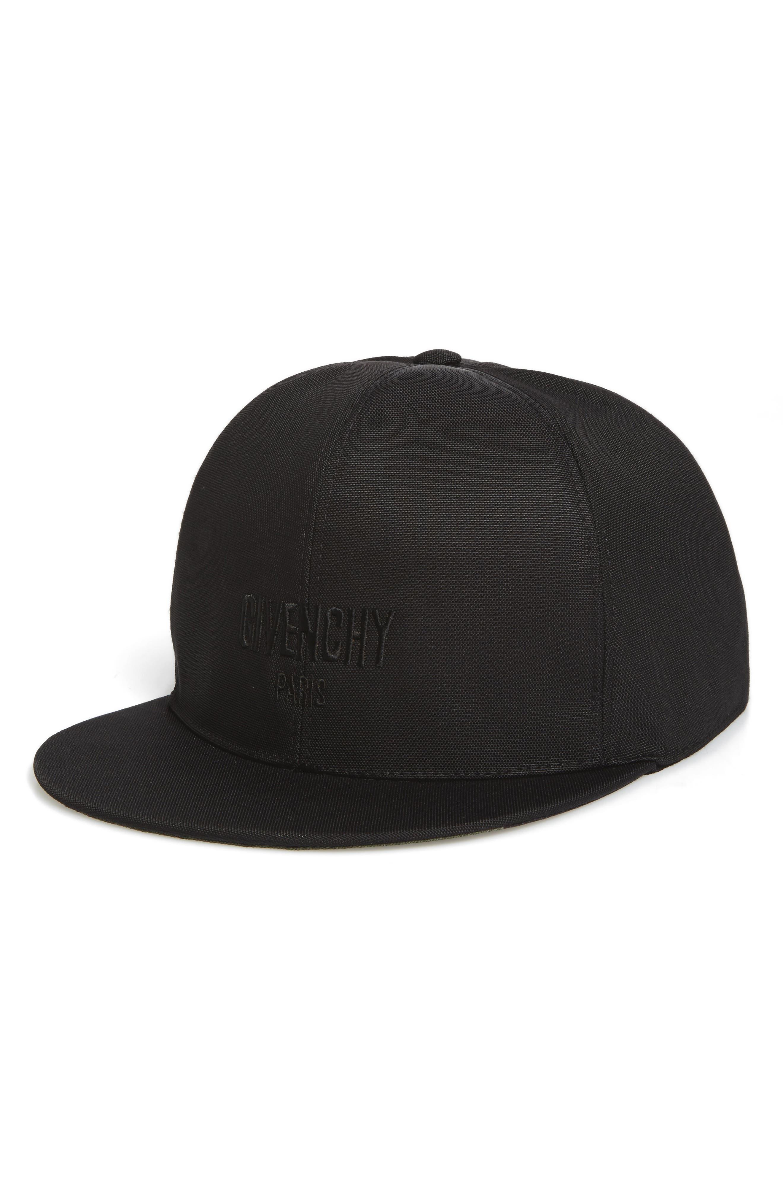 Embroidered Baseball Cap,                         Main,                         color, Black Multi