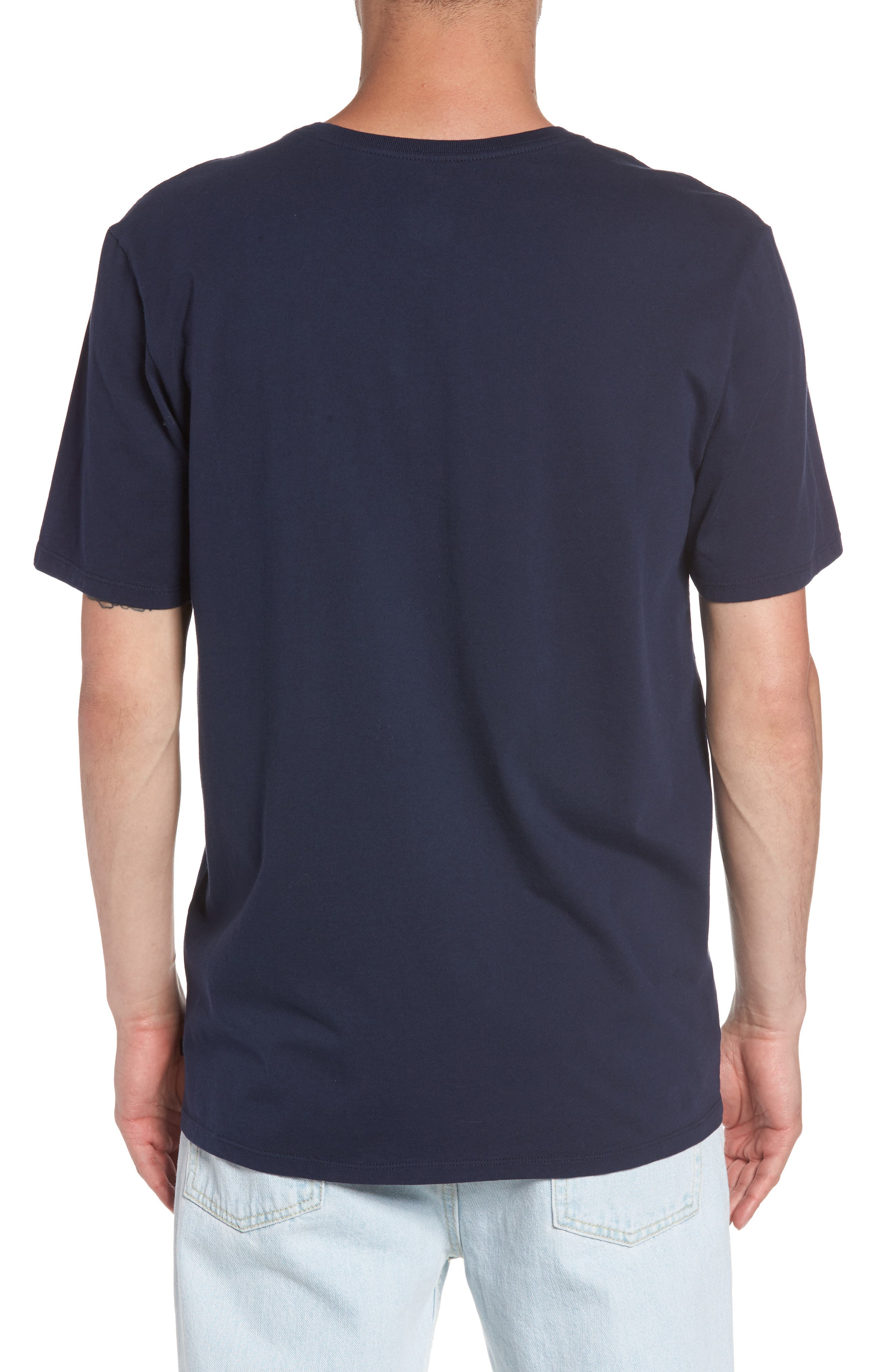 Nike Sportswear Futura T-Shirt,                             Alternate thumbnail 2, color,                             Obsidian