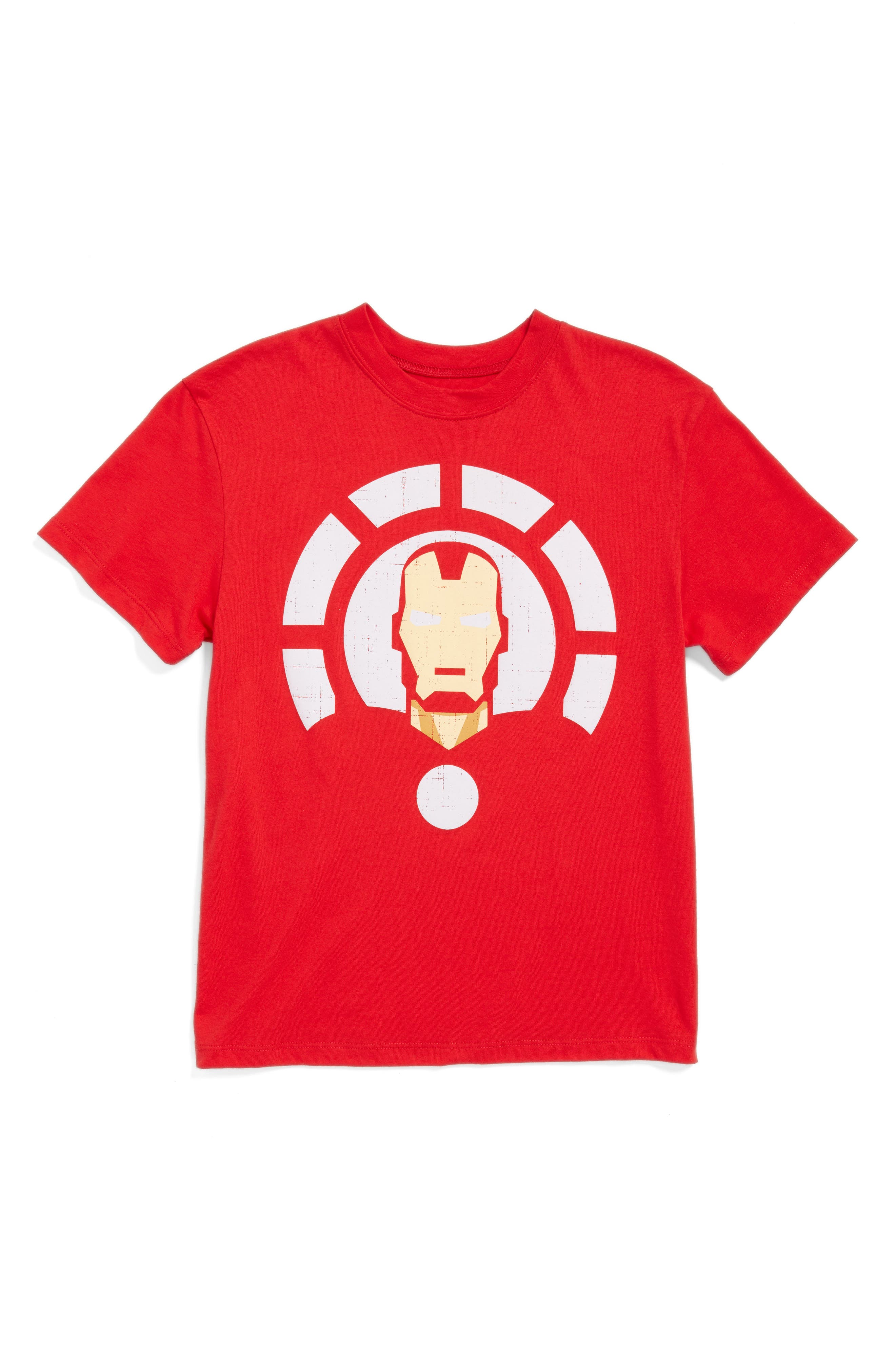 Iron Man Graphic T-Shirt,                         Main,                         color, Red