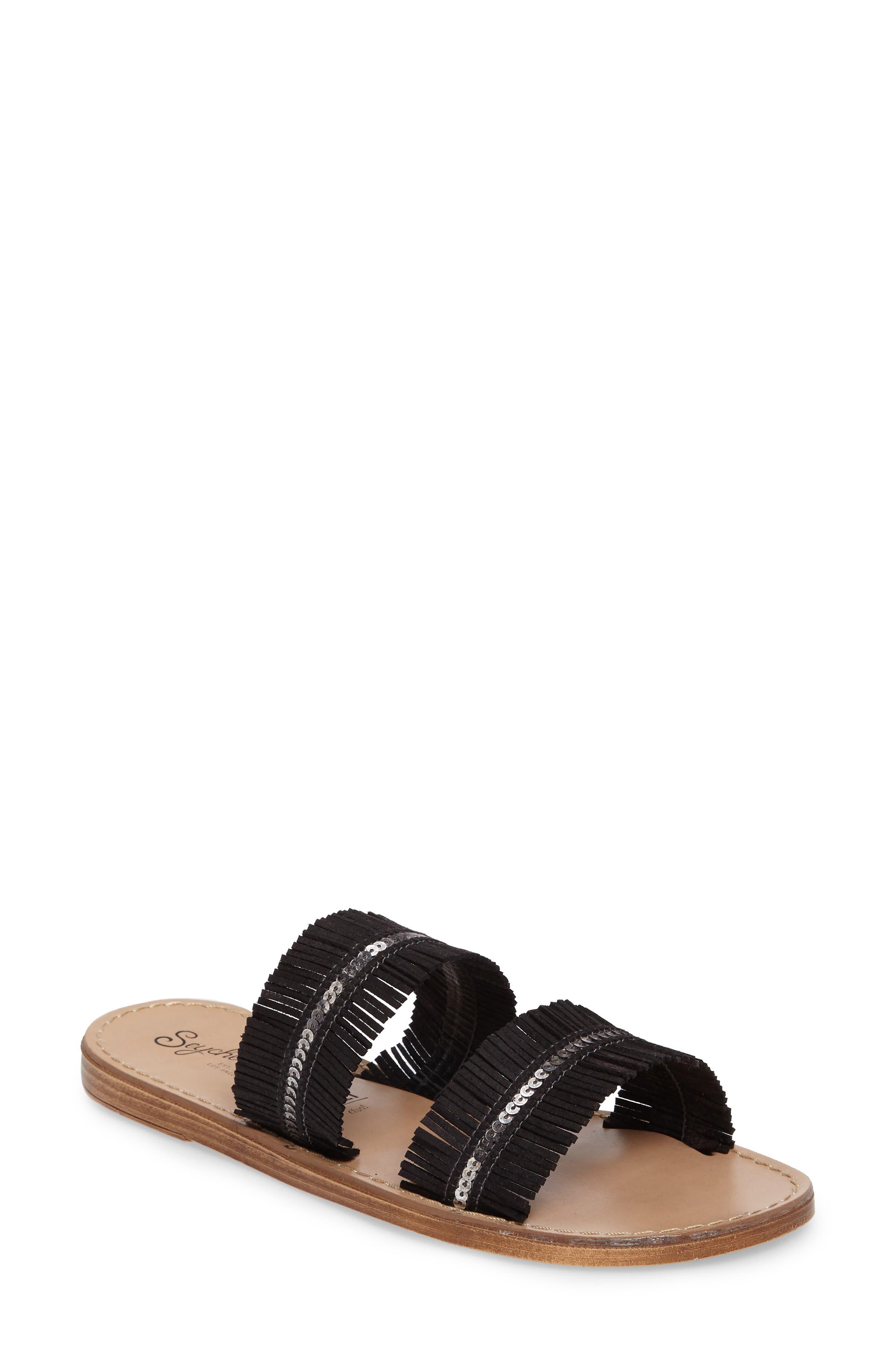 Seychelles Someone Comin' Slide Sandal (Women)