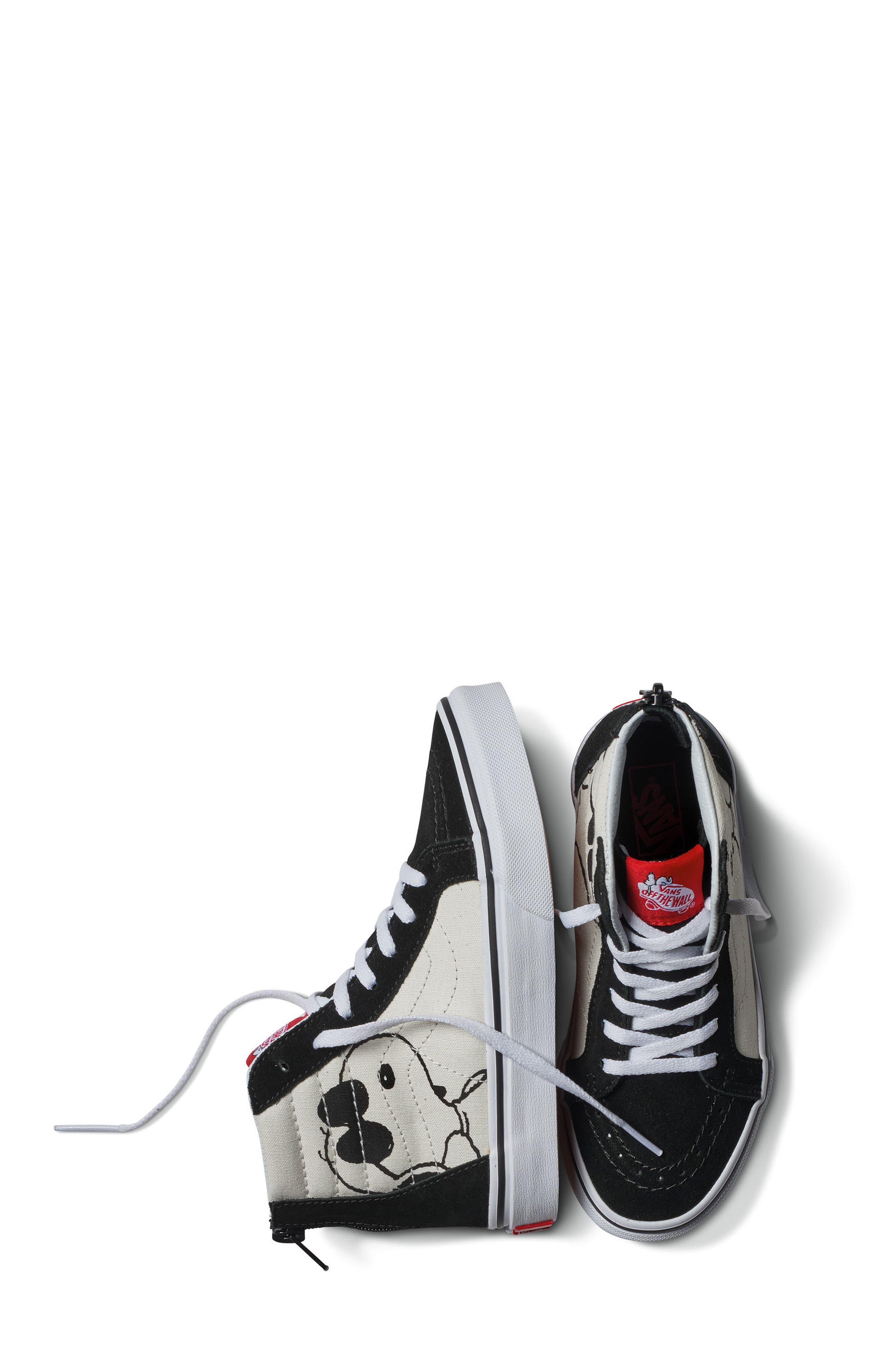 Alternate Image 8  - Vans x Peanuts SK8-Hi Sneaker (Toddler, Little Kid & Big Kid)
