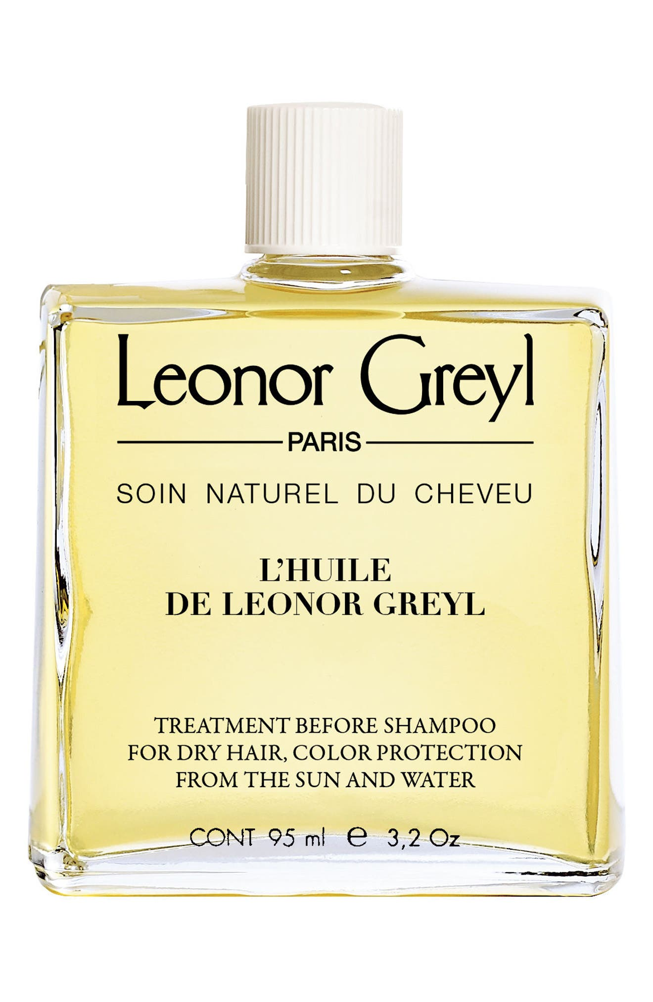 Leonor Greyl Paris treatment before shampoo