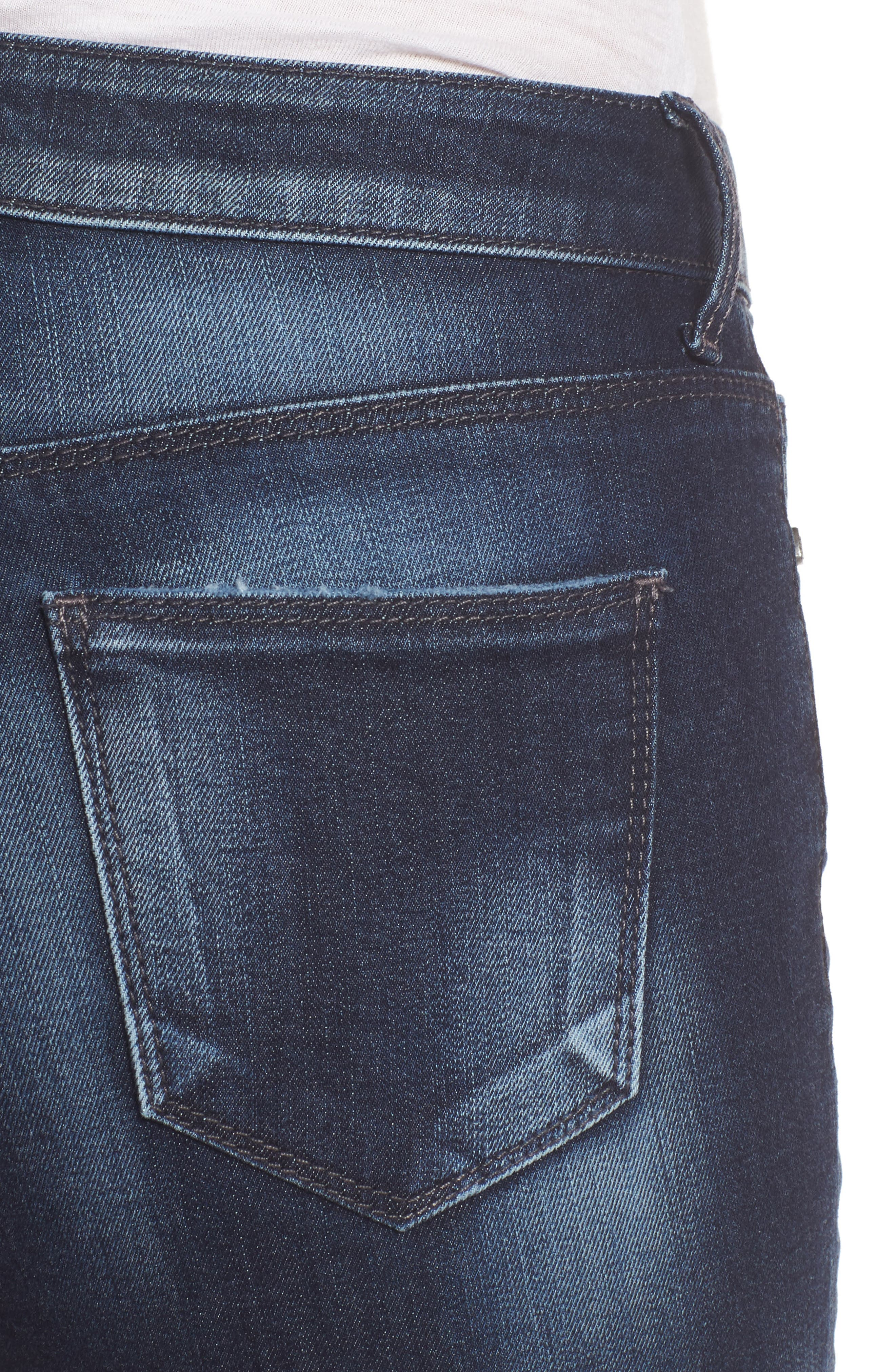 Alternate Image 4  - KUT from The Kloth Diana Curvy Fit Crop Skinny Jeans (Invigorated)