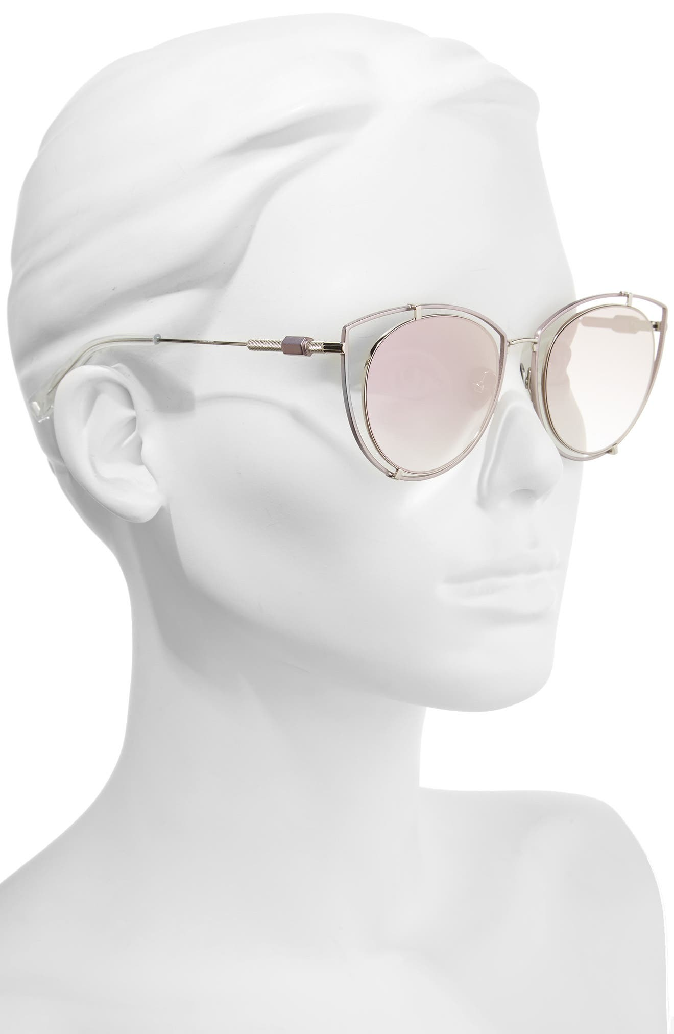 Alternate Image 2  - HAZE Vyt 53mm Cat Eye Sunglasses