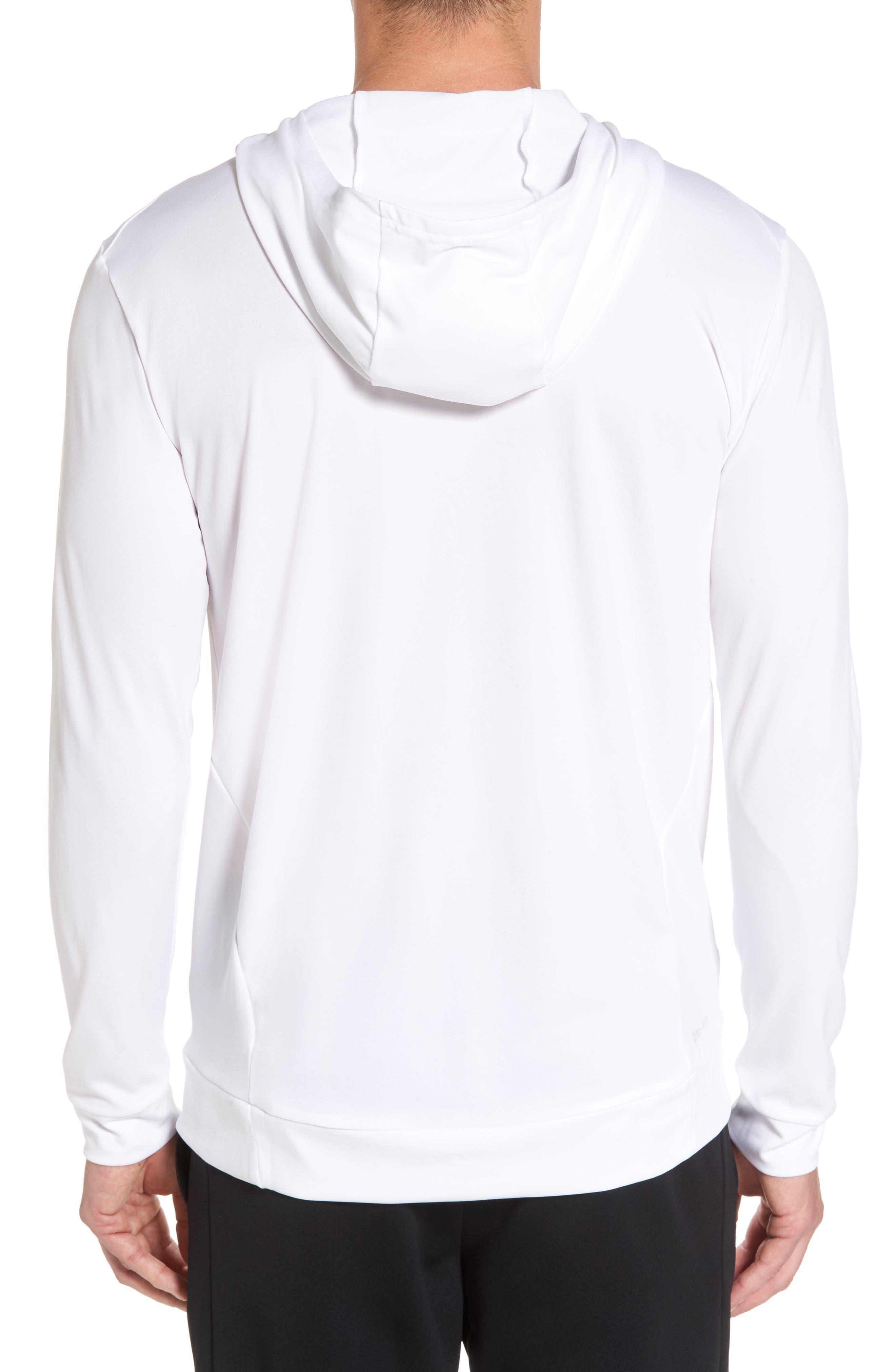 Alternate Image 2  - Nike Hyper Dry Regular Fit Training Hoodie