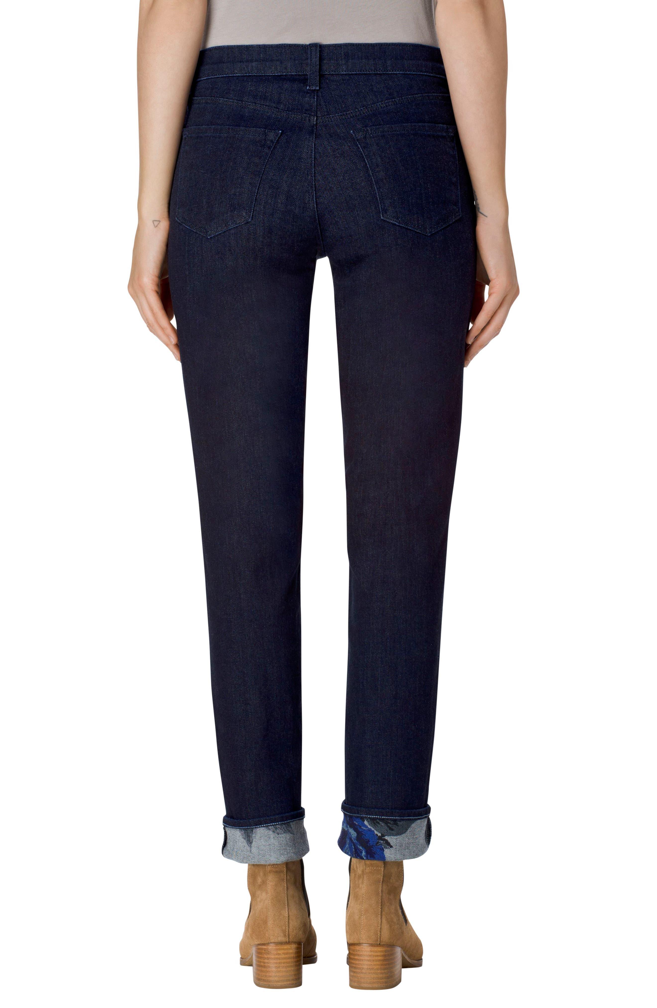 Alternate Image 2  - J Brand Maude Cigarette Leg Jeans (Corsage)