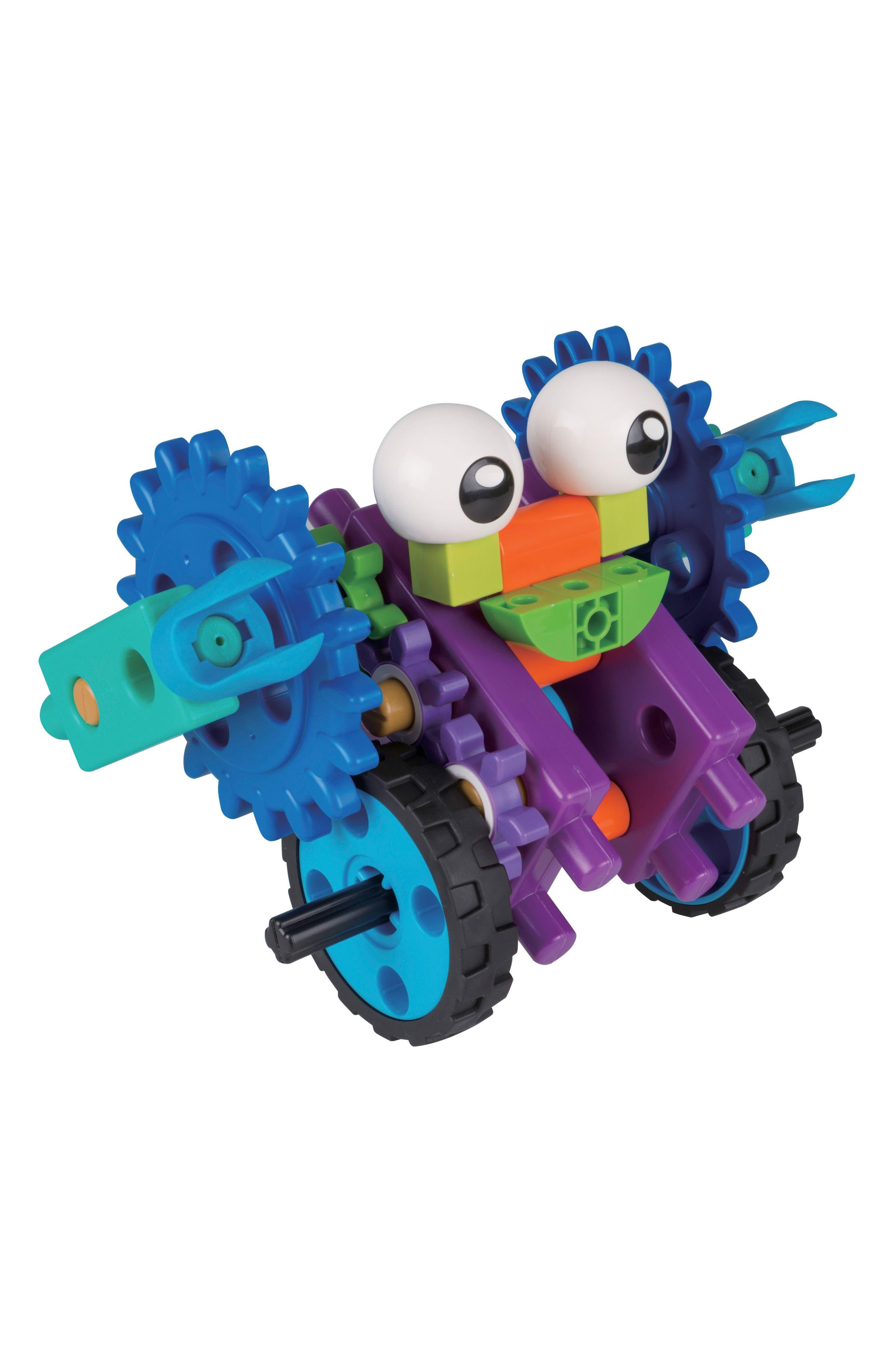 Robot Engineer Building Set & Storybook,                             Alternate thumbnail 3, color,                             Blue