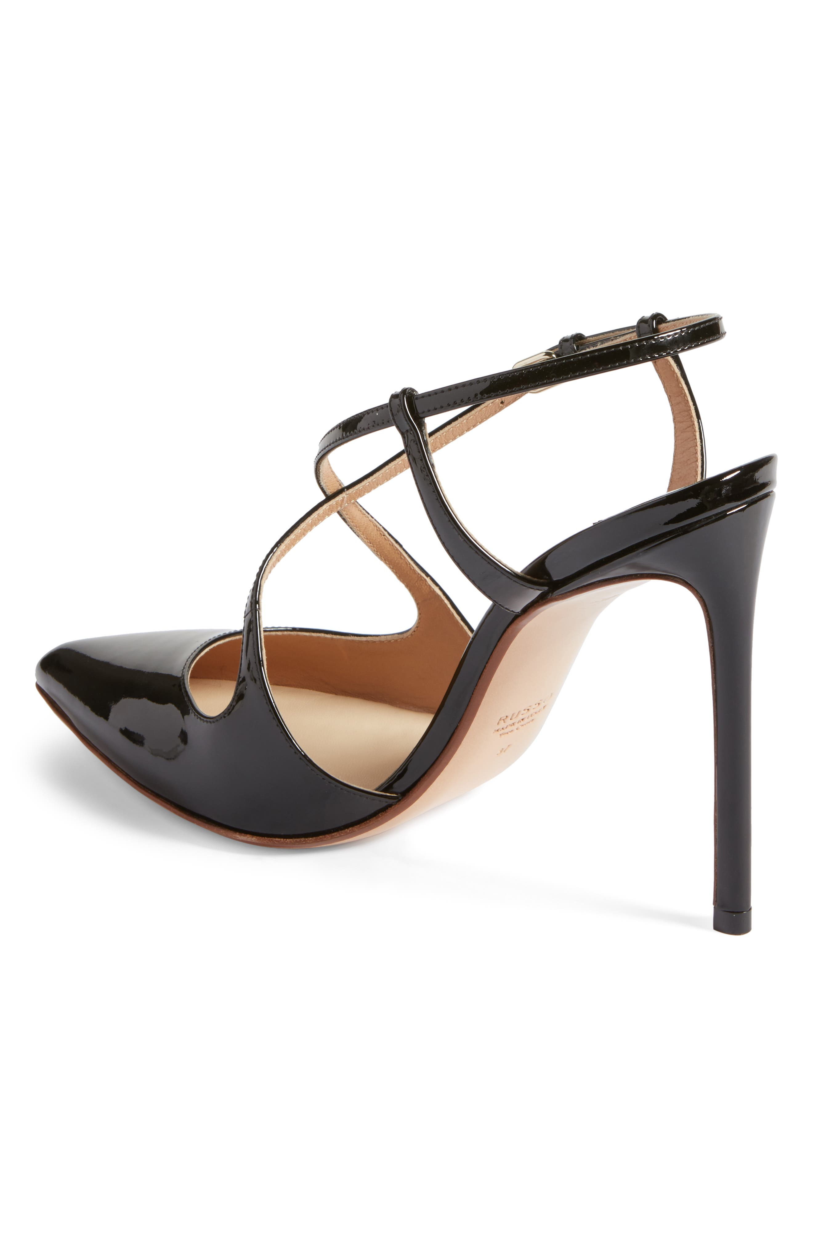 Alternate Image 2  - Francesco Russo Criss Cross Pump (Women)