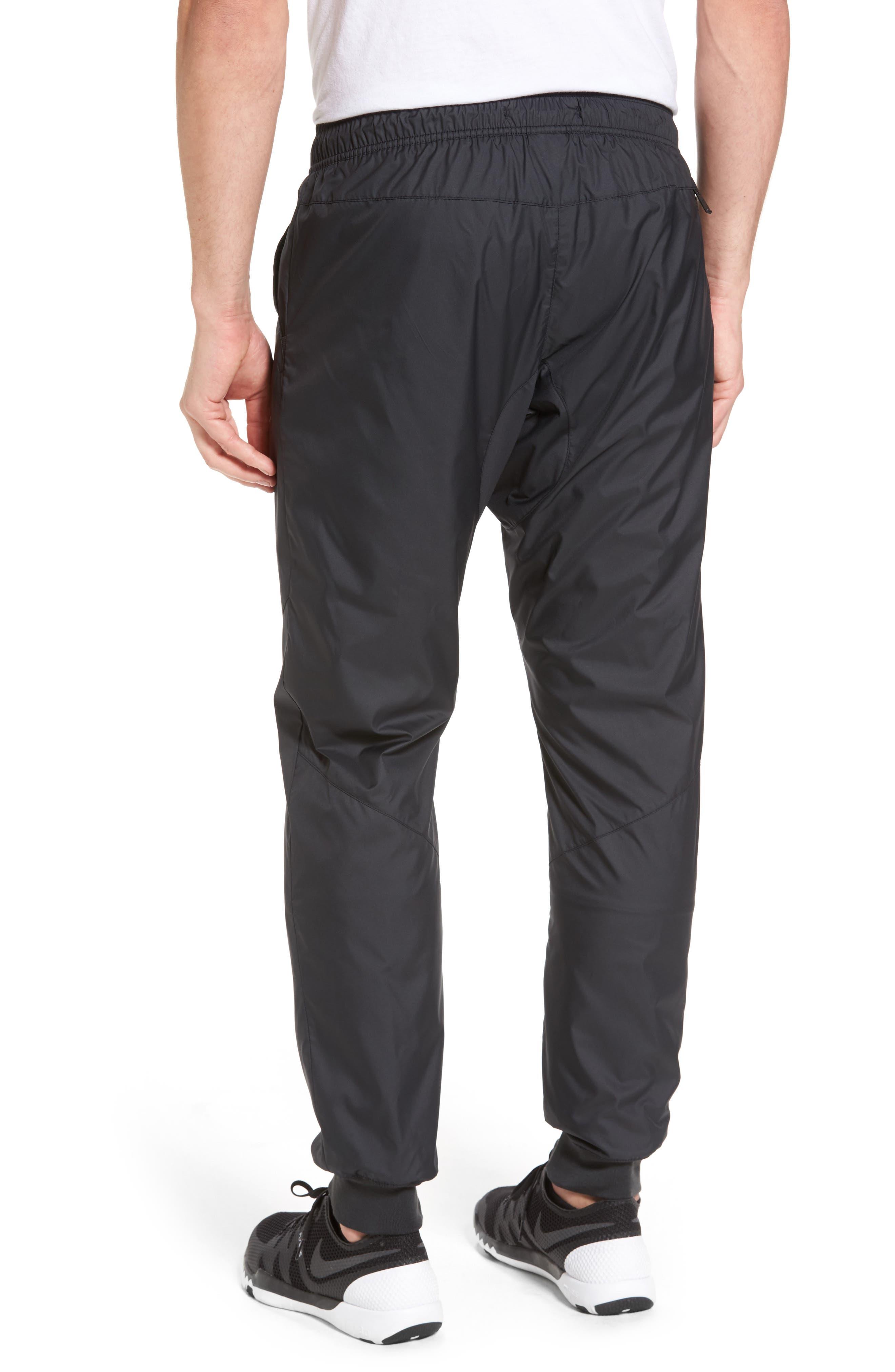 Windrunner Training Pants,                             Alternate thumbnail 2, color,                             Black/ Black/ Black/ White